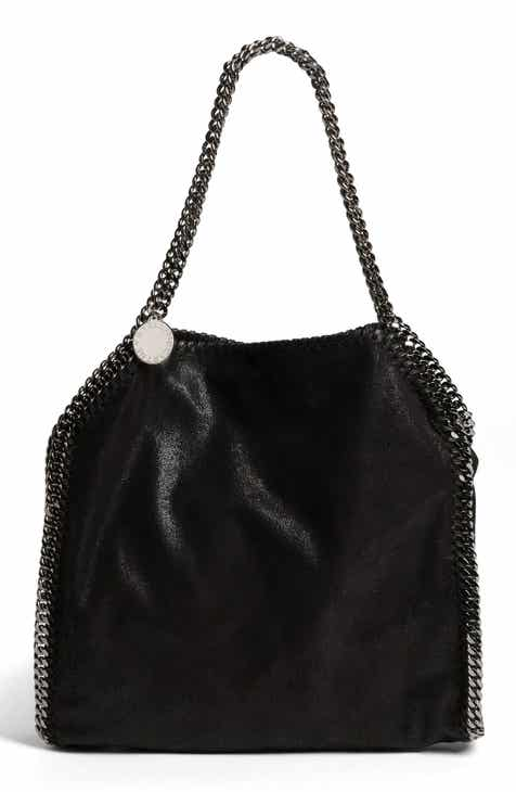 Stella Mccartney Small Falabella Gy Deer Faux Leather Tote