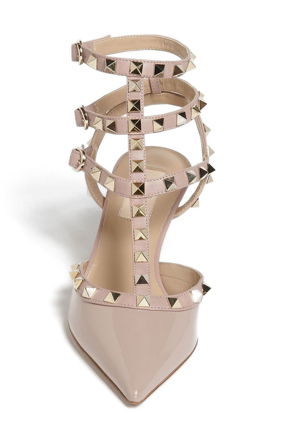 Alternate Image 3  - VALENTINO GARAVANI Rockstud Pointy Toe Pump (Women)