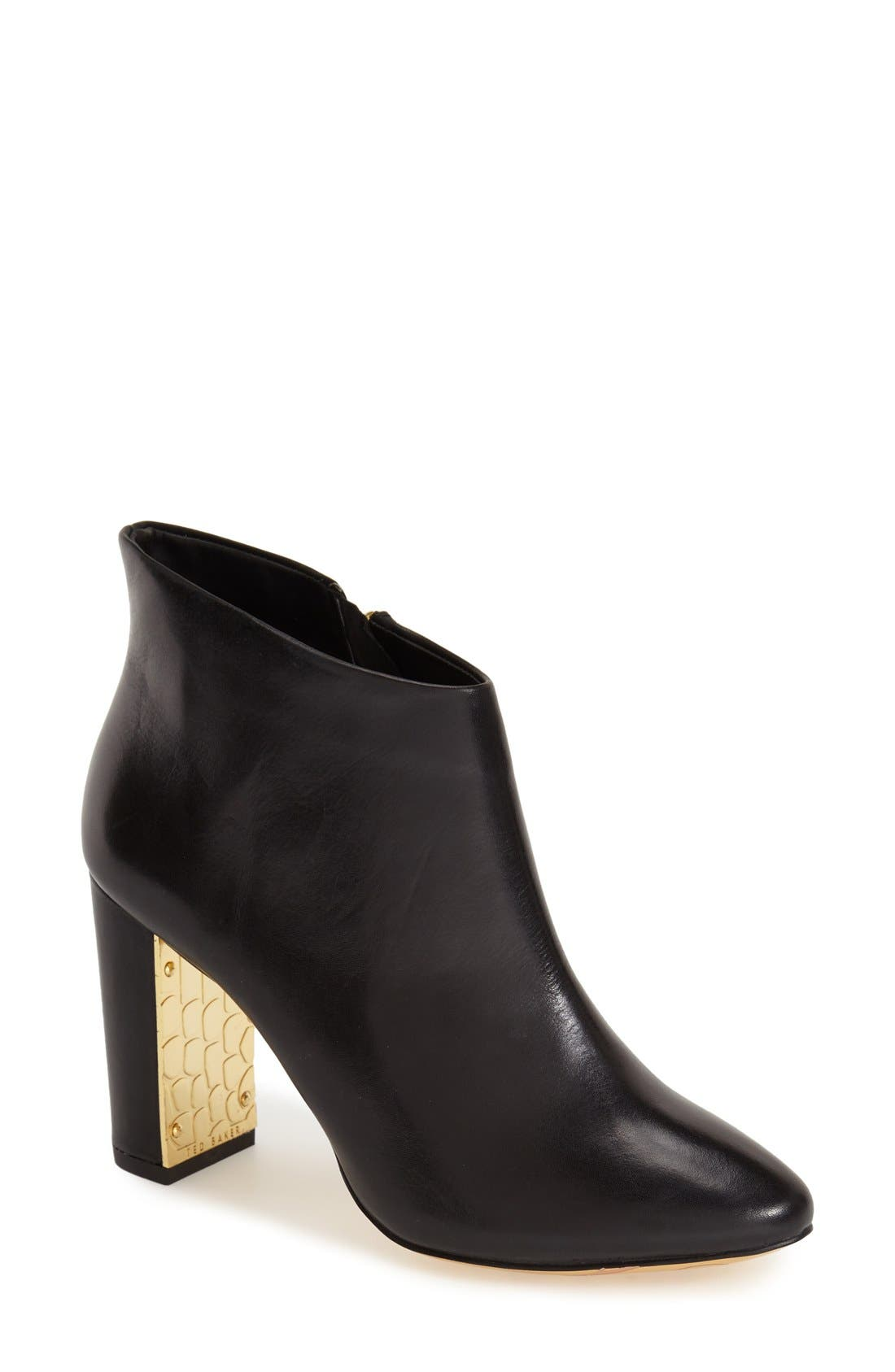 Alternate Image 1 Selected - Ted Baker London 'Lowrenna' Ankle Bootie (Women)