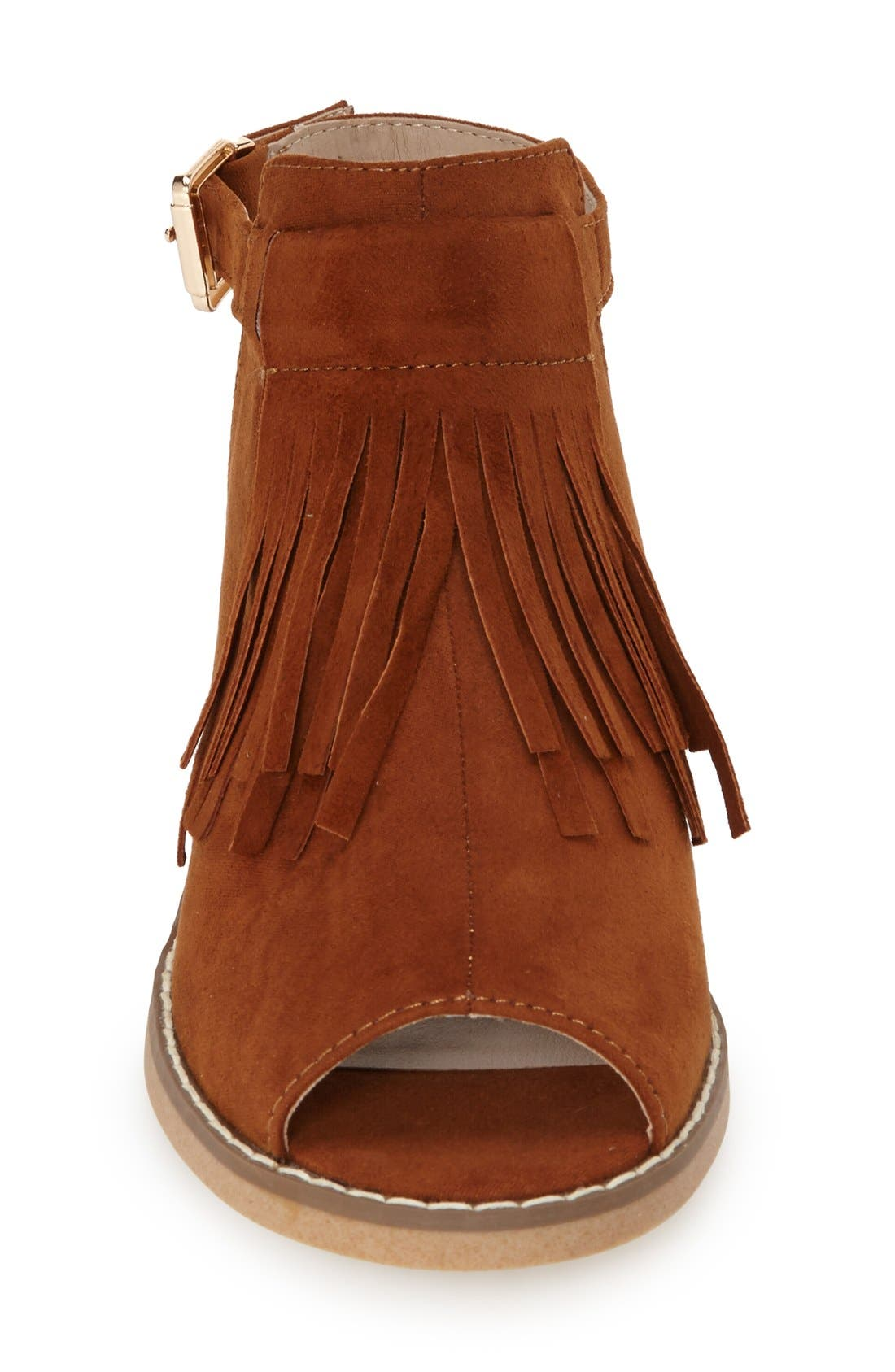 Alternate Image 3  - Topshop 'Blinder' Fringe Sandal (Women)