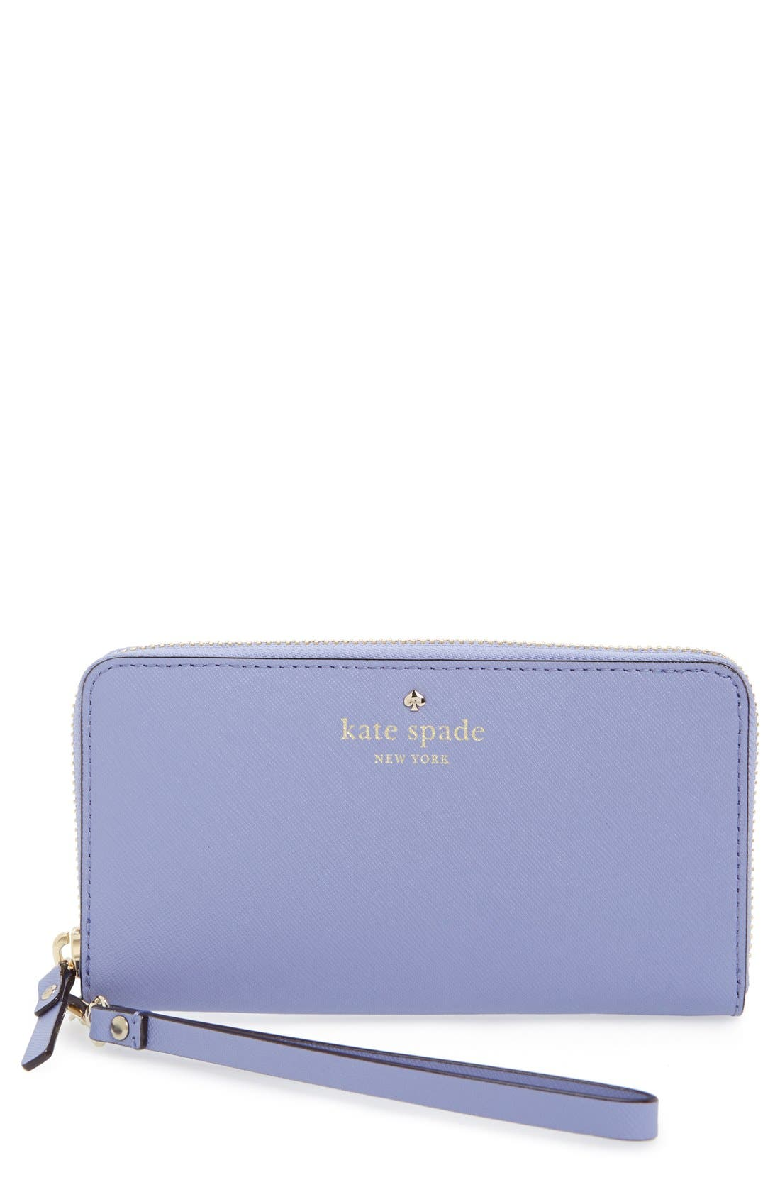 Alternate Image 1 Selected - kate spade new york 'cedar street - jordie' zip around leather wallet