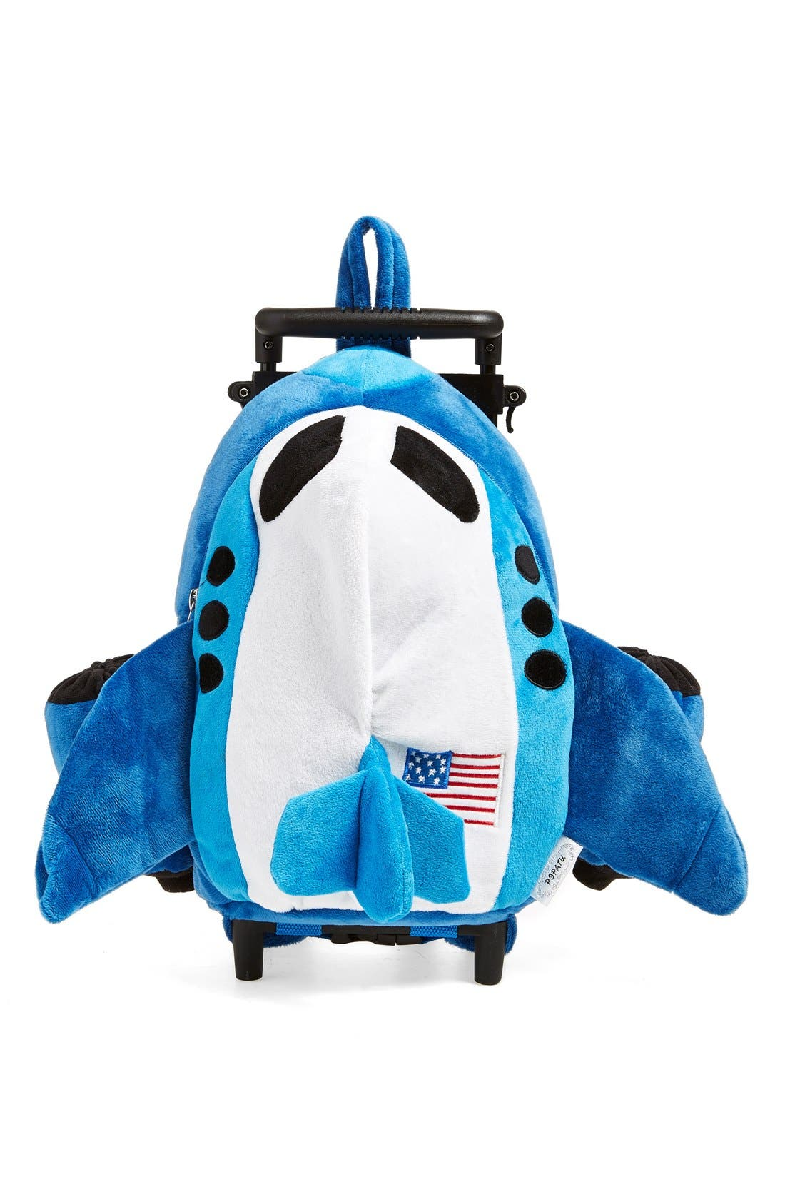 Trolley Rolling Backpack Set,                         Main,                         color, Airplane Blue