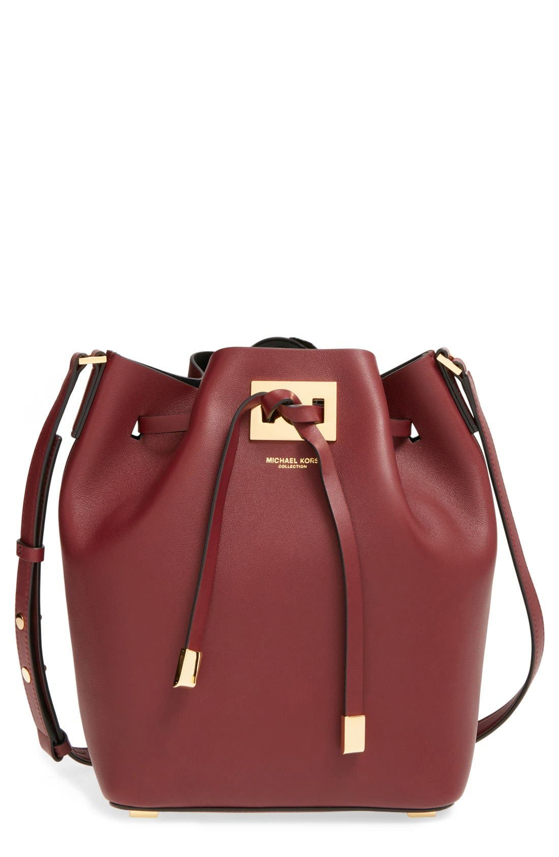 Alternate Image 1 Selected - Michael Kors 'Medium Miranda' Bucket Bag