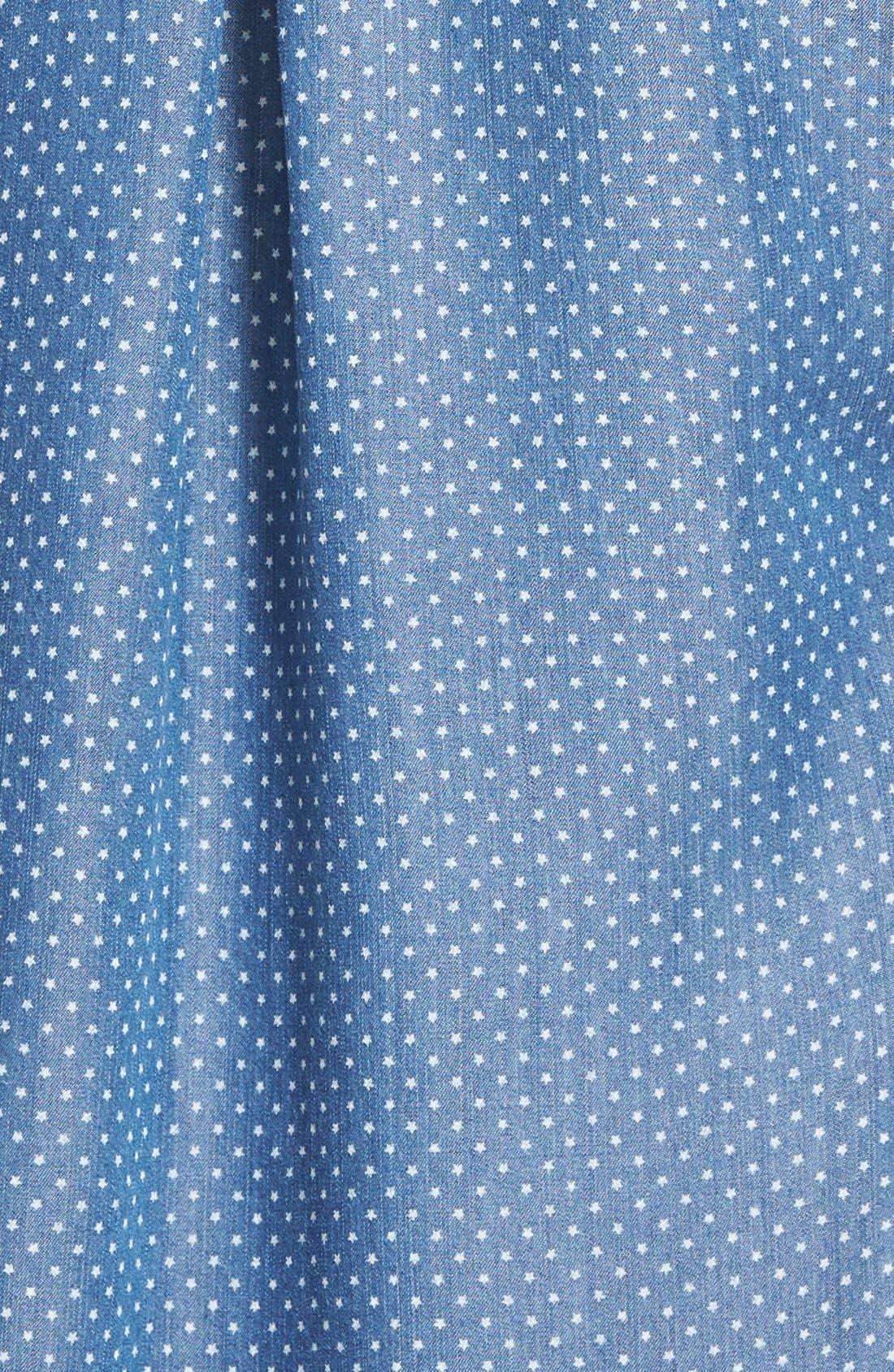 Alternate Image 3  - Rails 'Carter' Star DotChambray Shirt