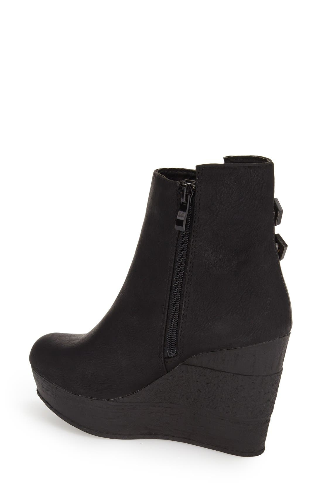 Alternate Image 2  - Sbicca 'Woodway' Wedge Bootie (Women)