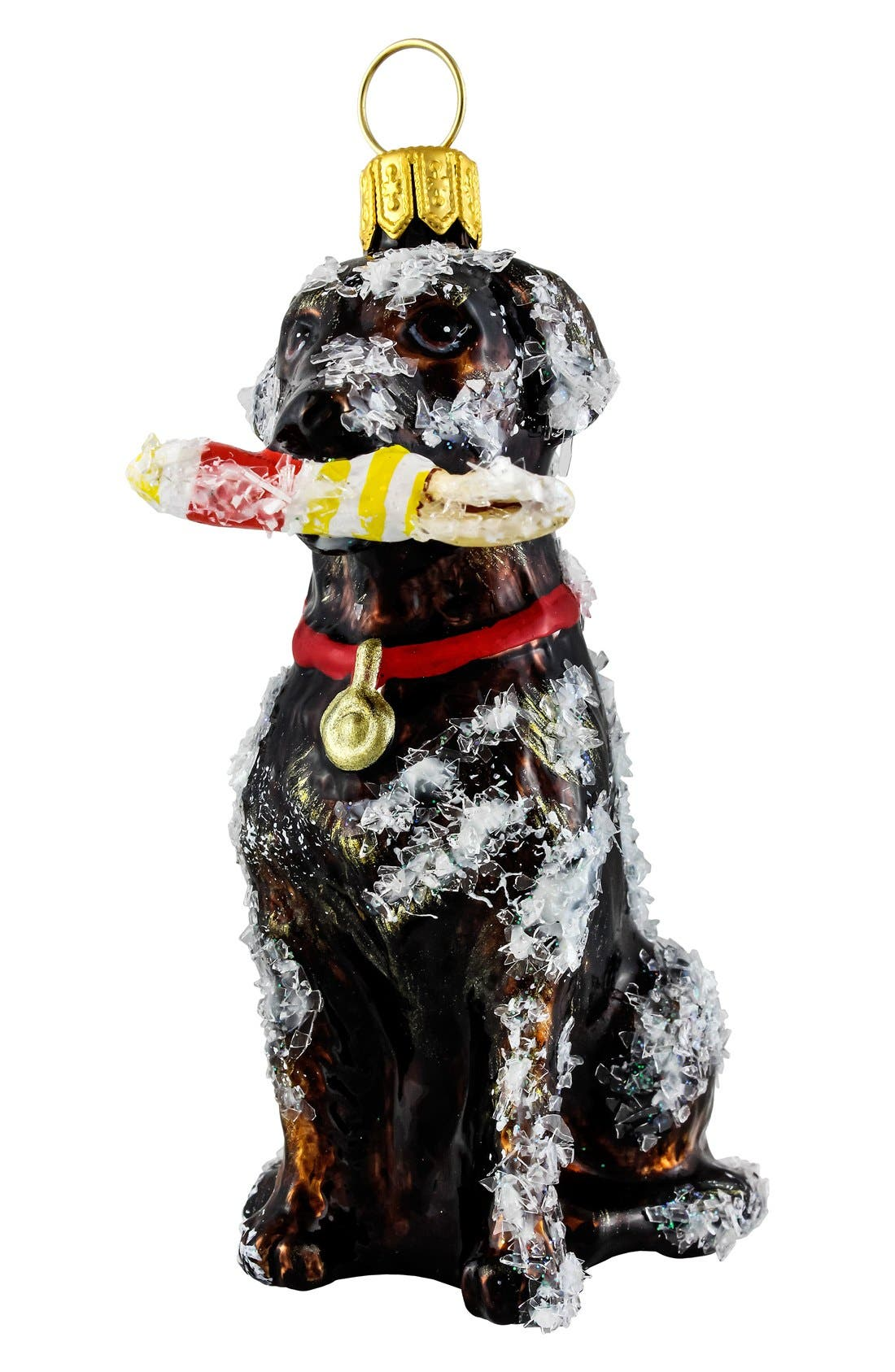 Alternate Image 1 Selected - Joy to the World Collectibles 'Labrador with Buoy' Ornament