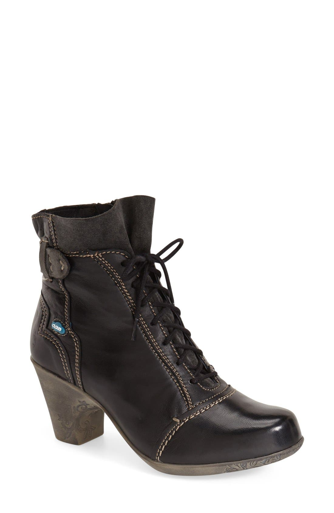 CLOUD 'Jesse' Lace-Up Bootie (Women)