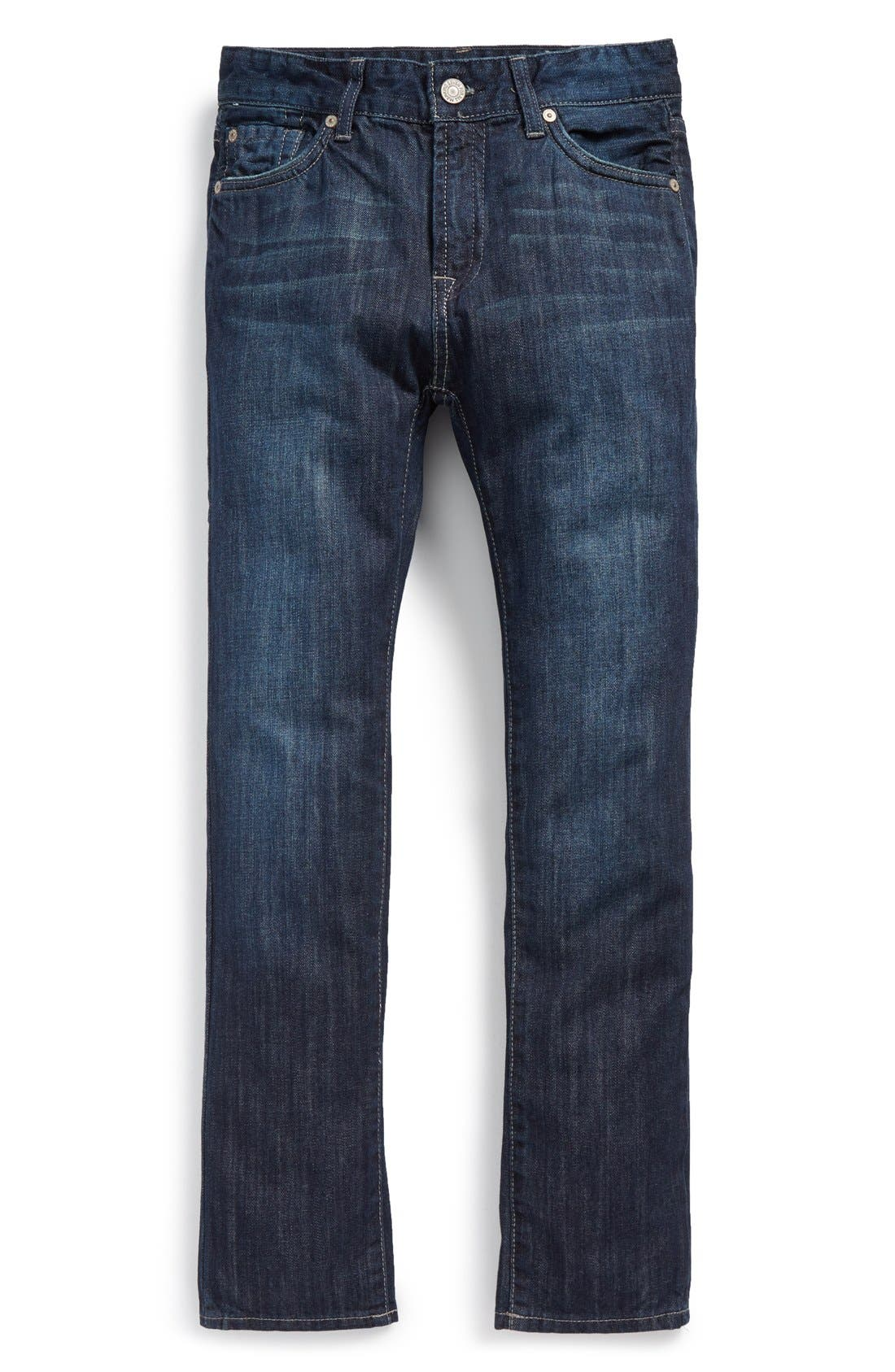 Alternate Image 1 Selected - 7 For All Mankind® 'Slimmy' Jeans (Big Boys)