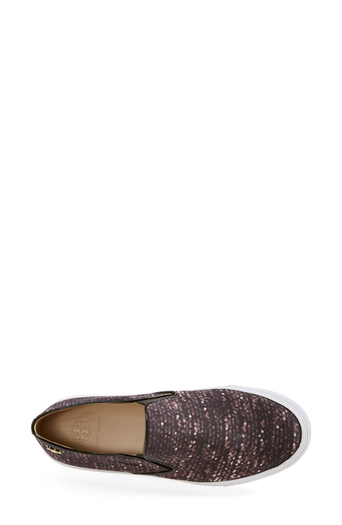 Alternate Image 3  - Tory Burch Print Slip-On Sneaker (Women)