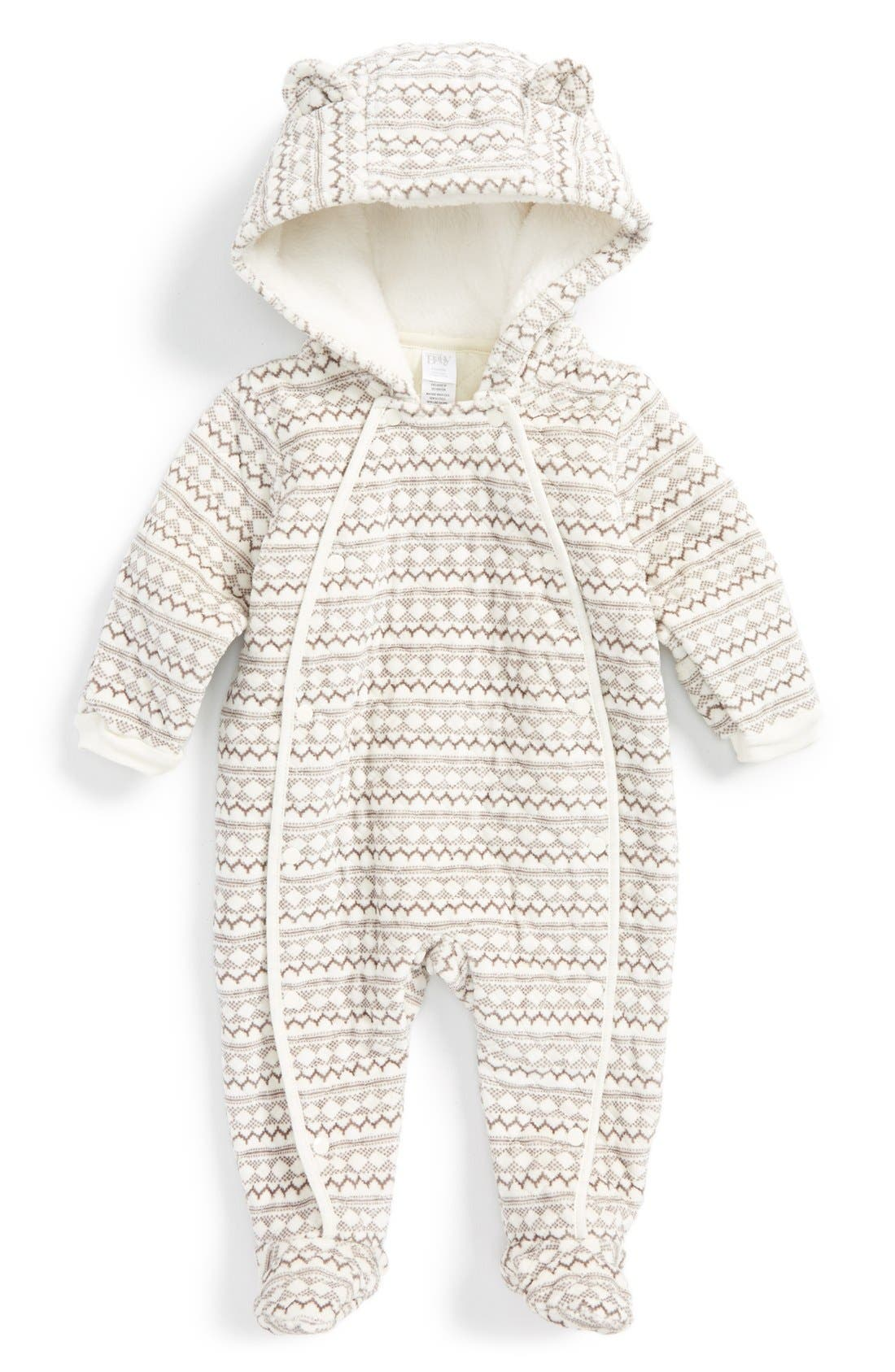Main Image - Nordstrom Baby Print Bunting (Baby)