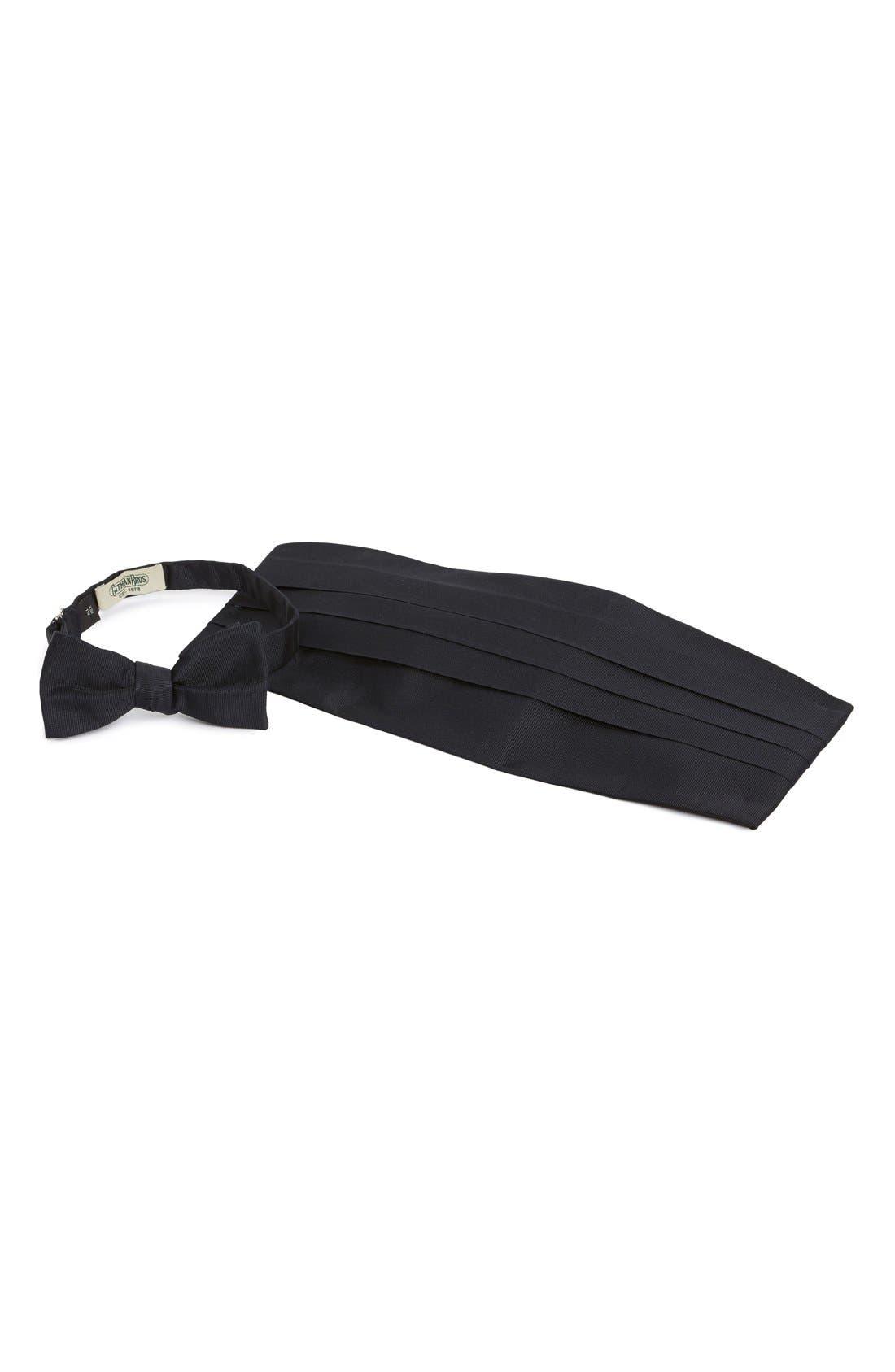 Cummerbund & Bow Tie,                         Main,                         color, Navy