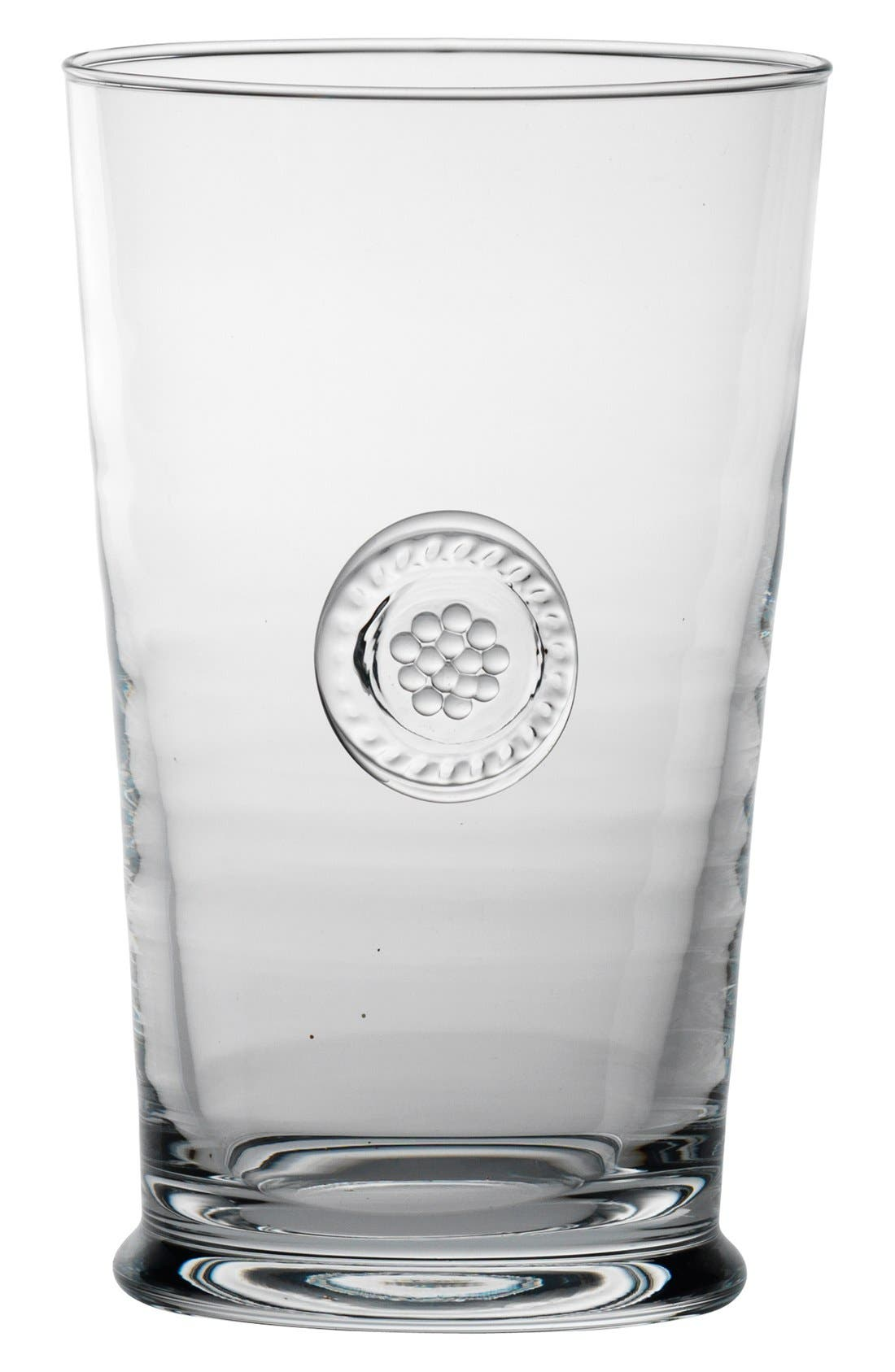 'Berry and Thread' Highball Glass,                             Alternate thumbnail 3, color,                             Clear