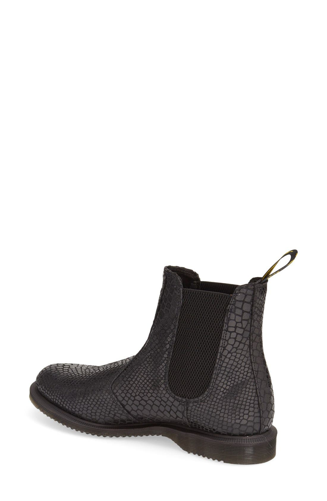 Alternate Image 2  - Dr. Martens 'Flora' Chelsea Boot (Women)