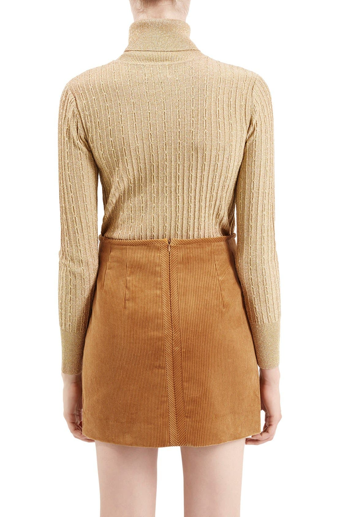 Alternate Image 3  - TopshopUnique 'Huntly' Turtleneck Sweater