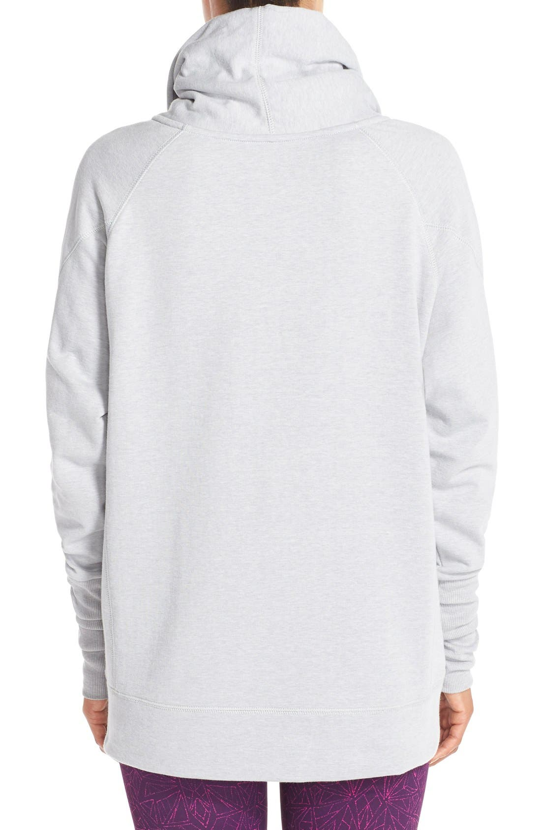 Alternate Image 2  - Zella 'Inner Peace' Cotton Blend Pullover