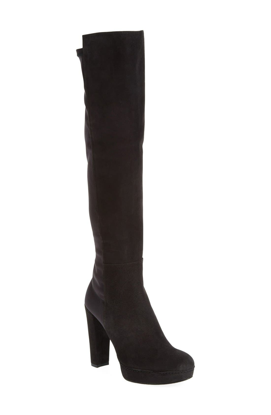 Alternate Image 1 Selected - Stuart Weitzman 'Demistrong' Over the Knee Boot (Women)