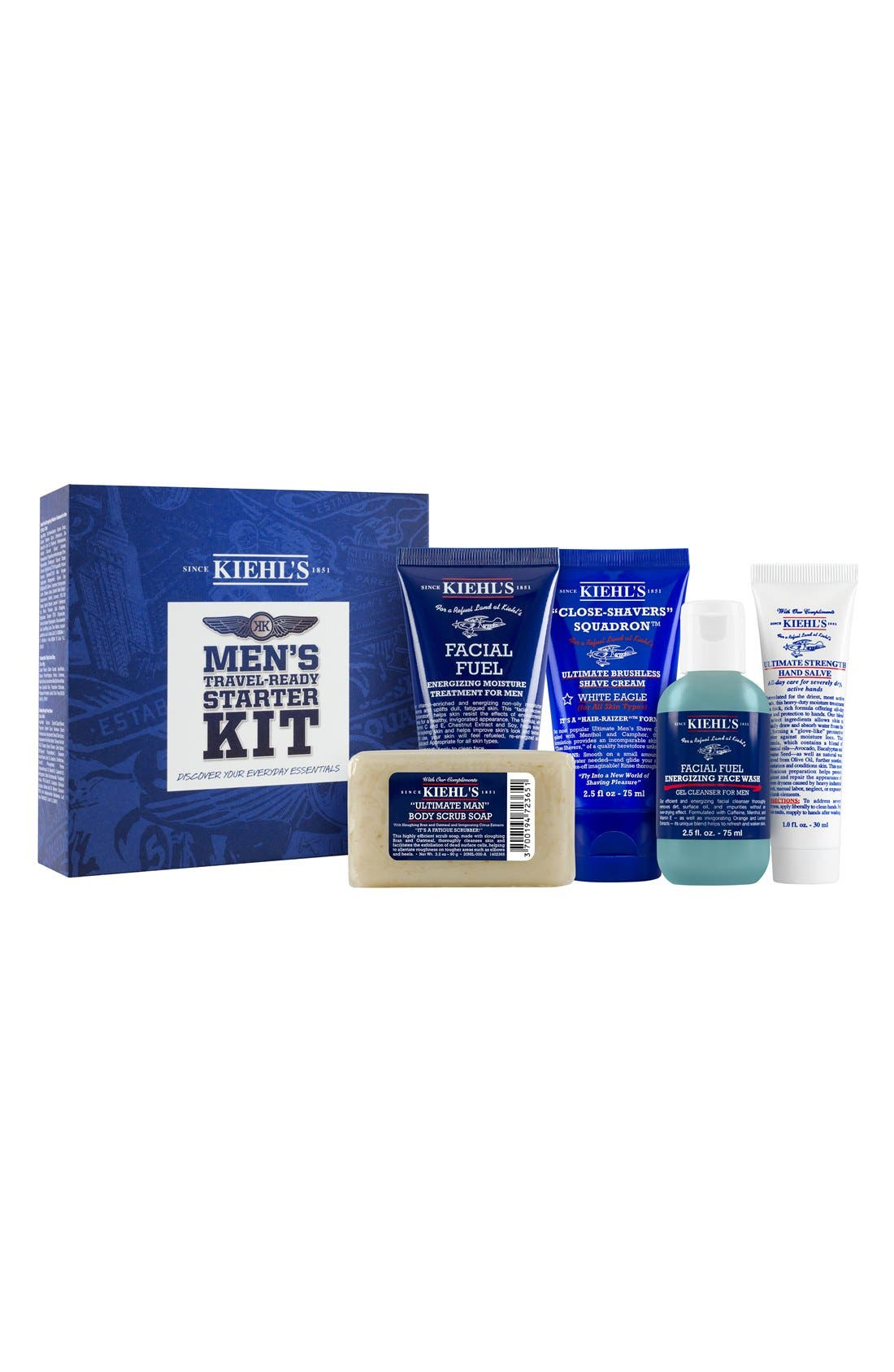 Kiehl's Since 1851 Men's Starter Kit ($55 Value)