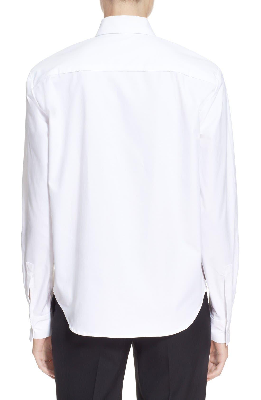 Alternate Image 2  - JacquemusContrast Hand Stretch CottonShirt