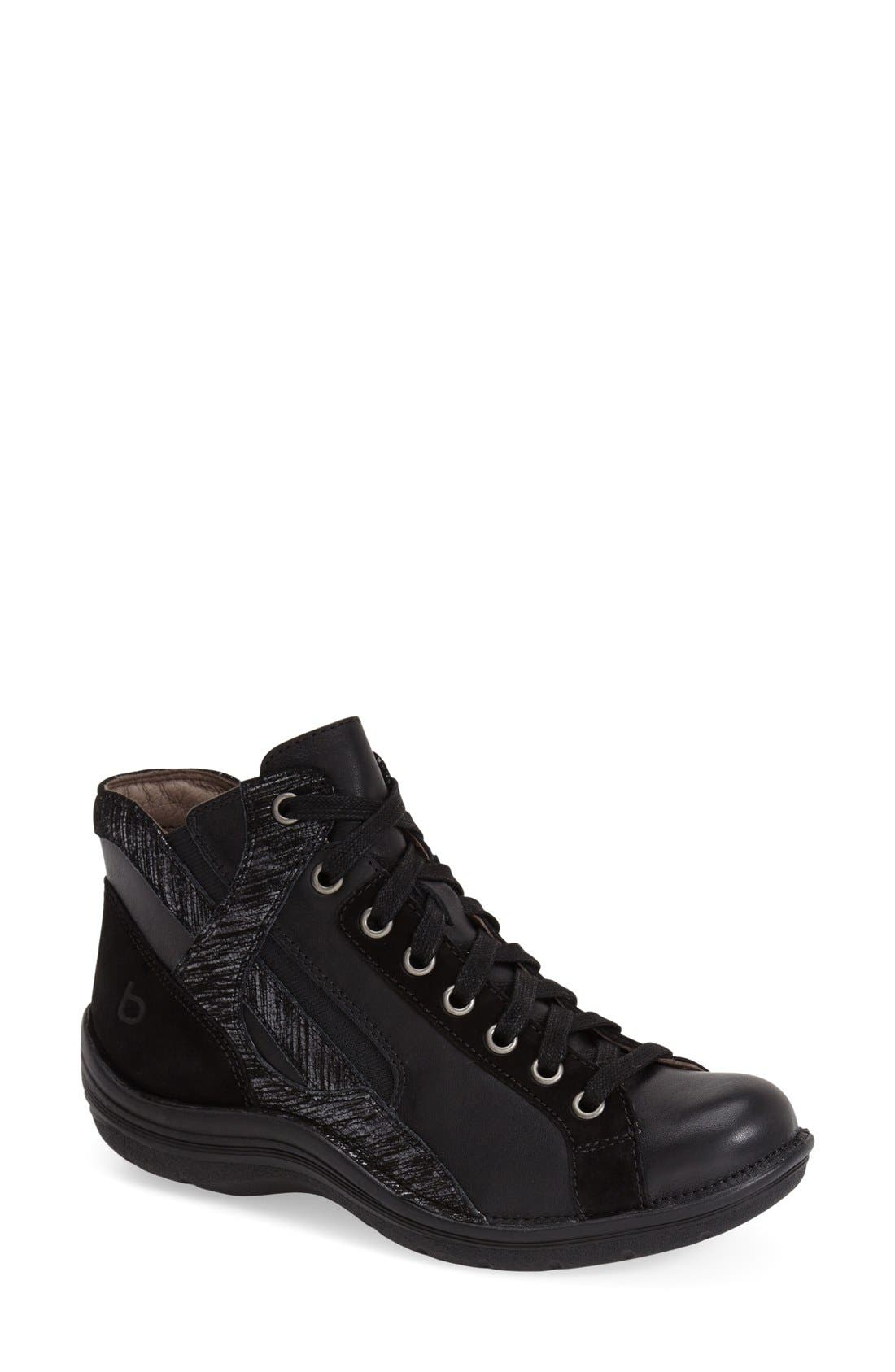 'Orbit' Boot,                             Main thumbnail 1, color,                             Black/ Anthracite Leather