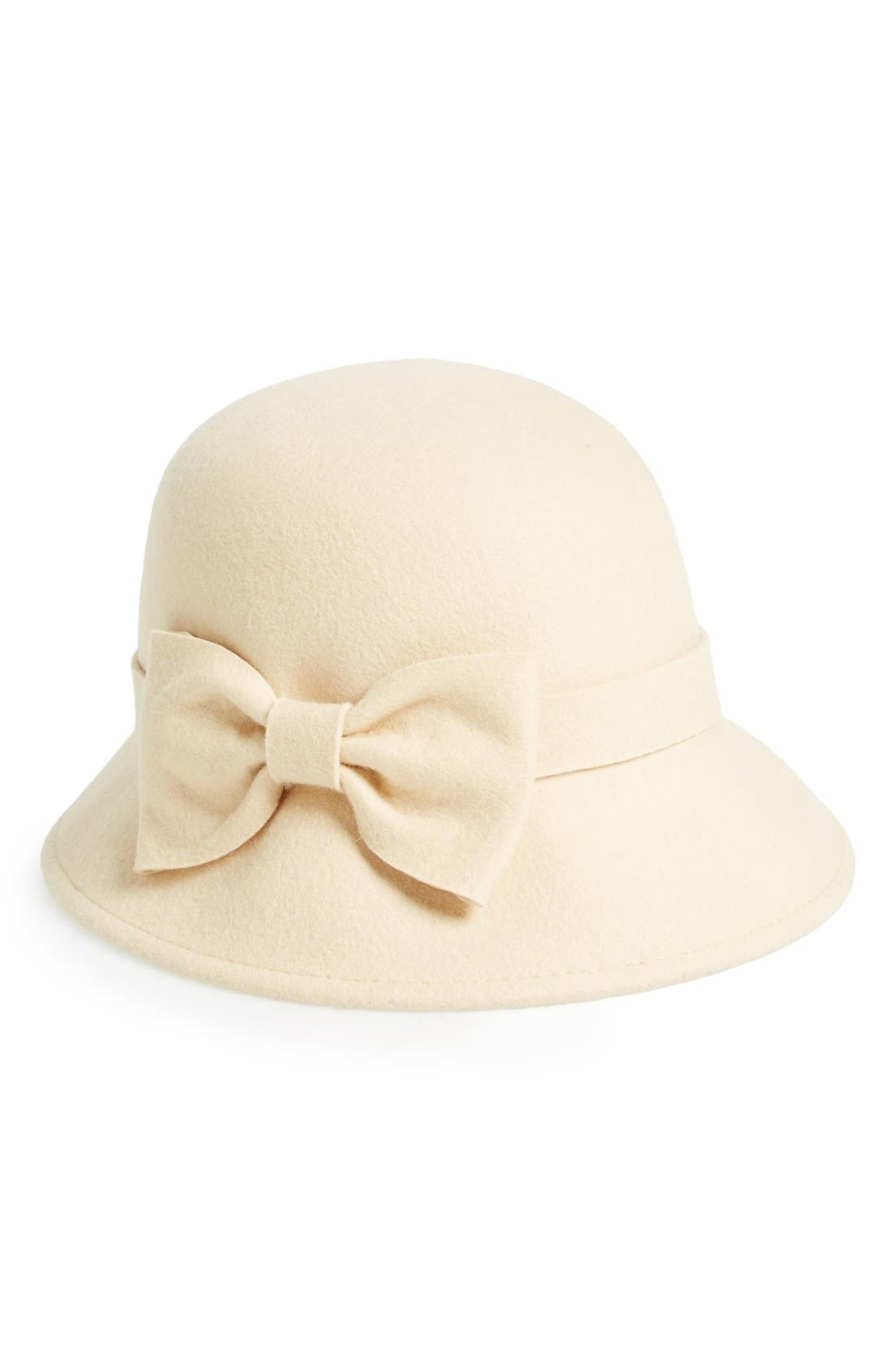 Main Image - kate spade new york felted wool downbrim hat