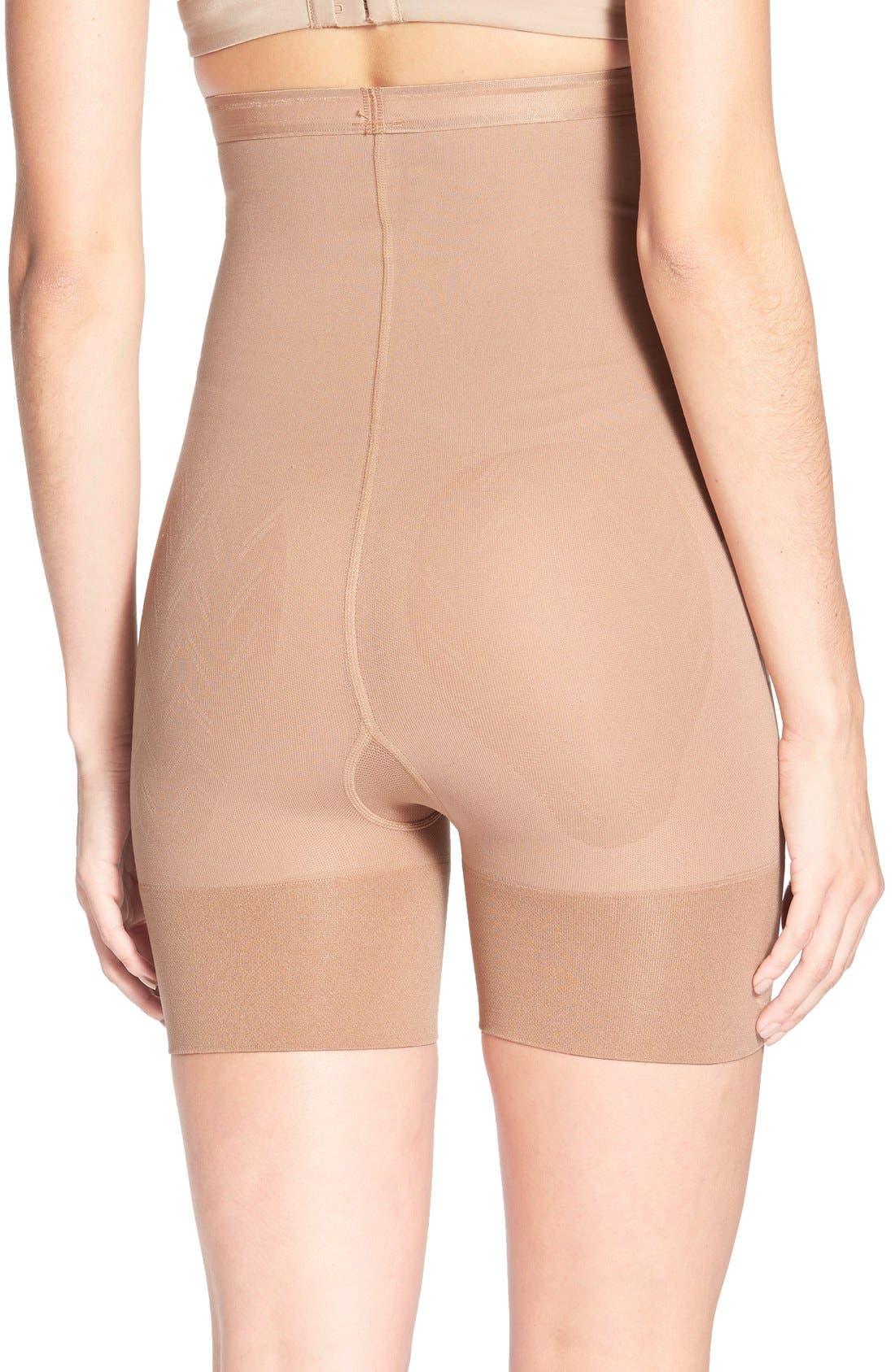 Shorty Shaping Shorts,                             Alternate thumbnail 2, color,                             Caramel