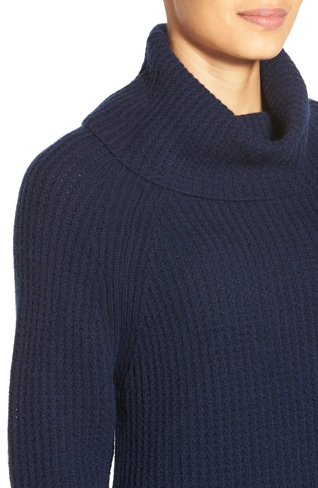 Alternate Image 4  - Nordstrom Collection Wool & Cashmere Turtleneck Sweater