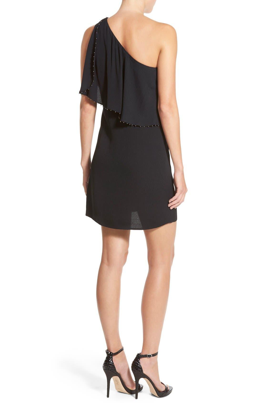 Alternate Image 2  - Ella Moss 'Stella' One Shoulder Crepe Dress