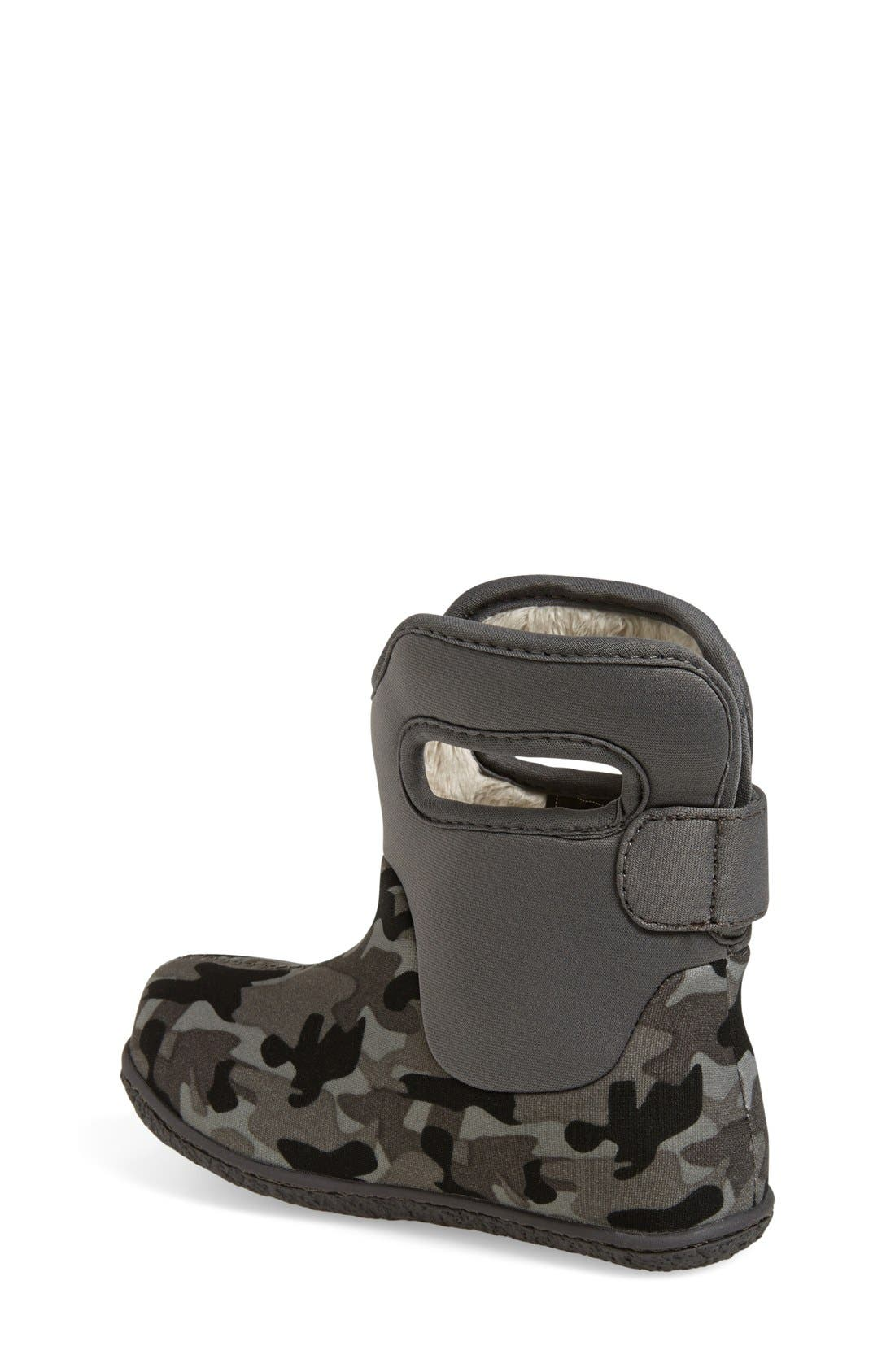 Alternate Image 2  - Bogs 'Baby Bogs - Camo' Waterproof Boot (Walker & Toddler)
