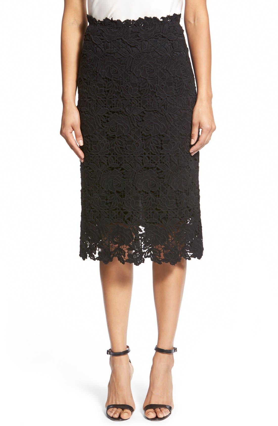 Alternate Image 1 Selected - Kobi Halperin 'Tatiana' Lace Skirt
