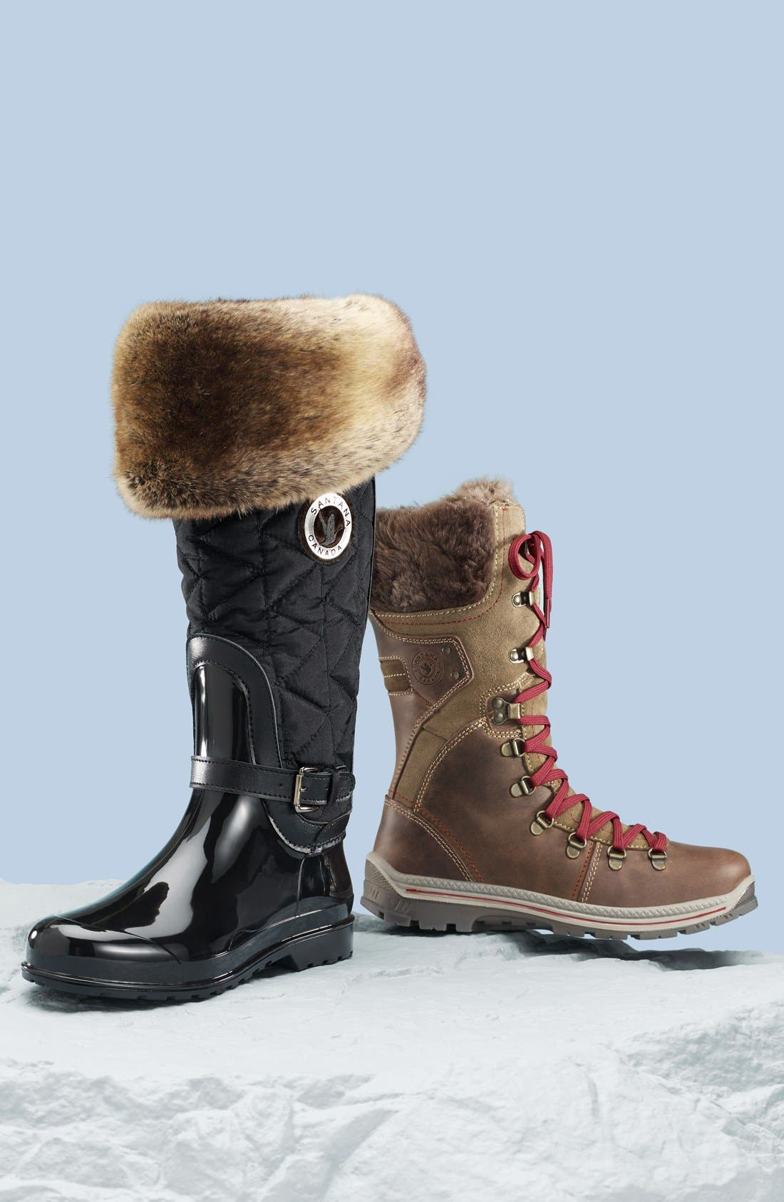 Alternate Image 5  - Santana Canada 'Clarissa' Waterproof Rain Boot (Women)