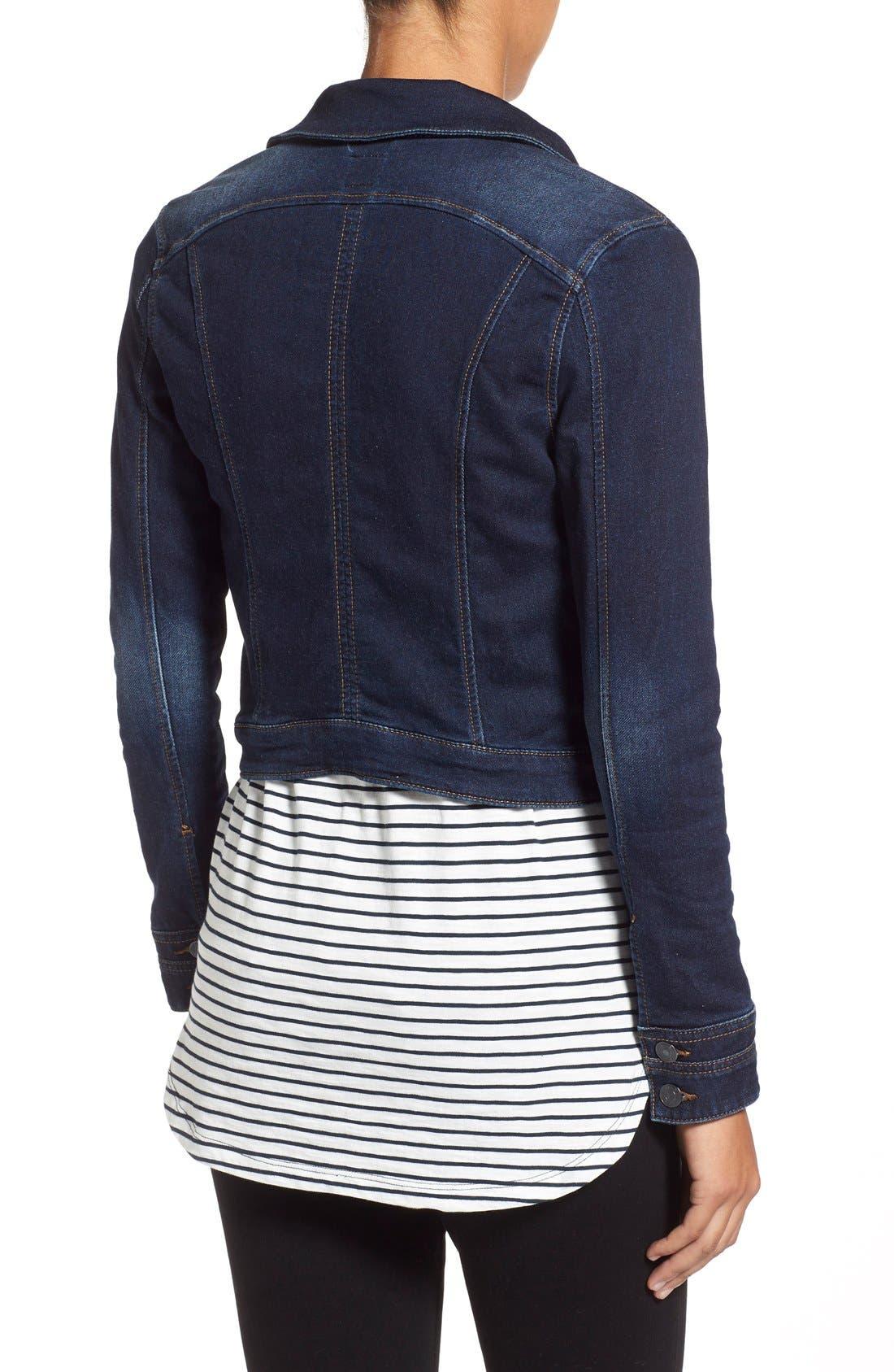 Alternate Image 3  - Jag Jeans 'Savannah' Knit Denim Jacket