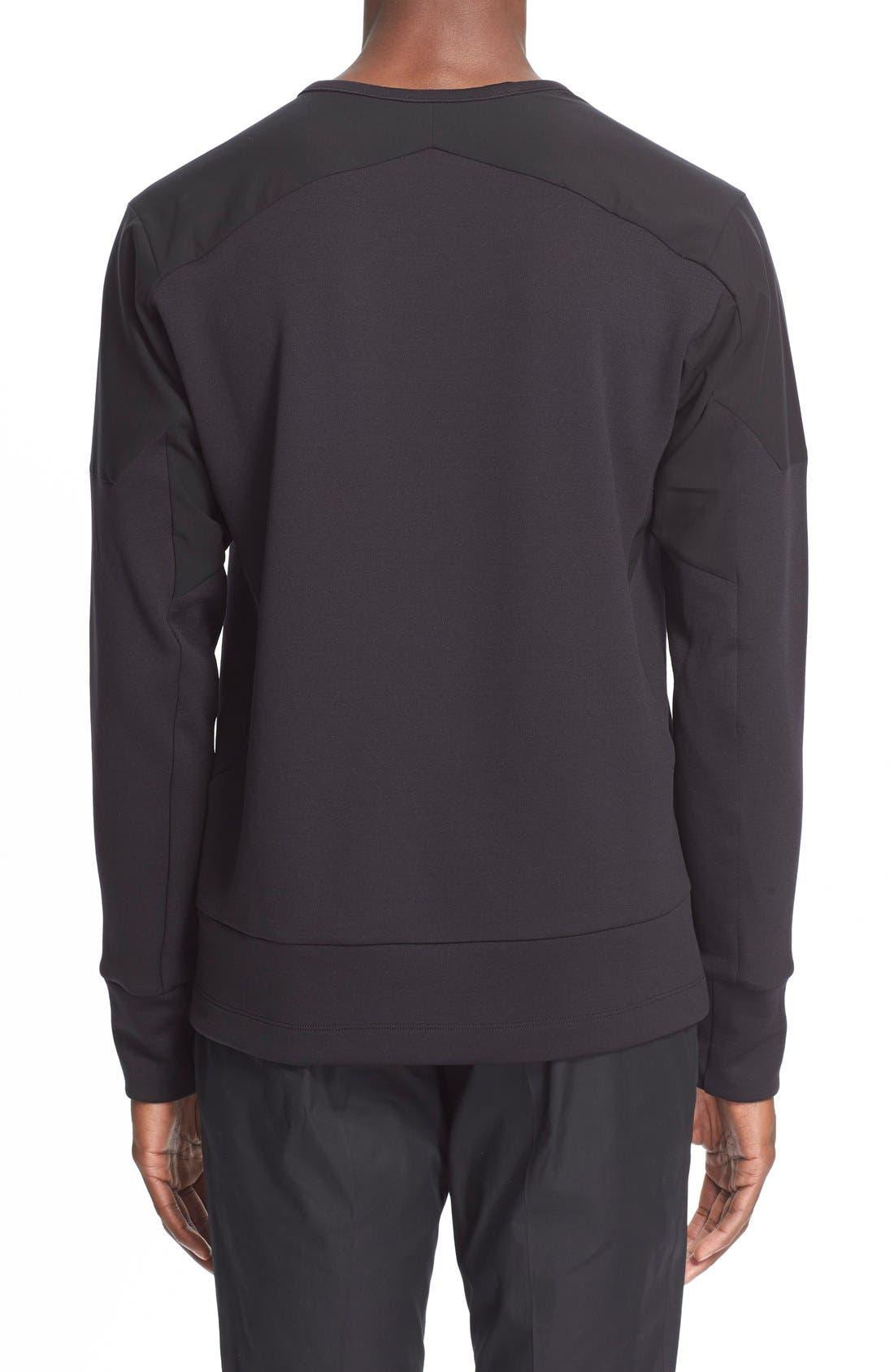 Arc'teryxVeilance'Graph' Sweater,                             Alternate thumbnail 2, color,                             Black