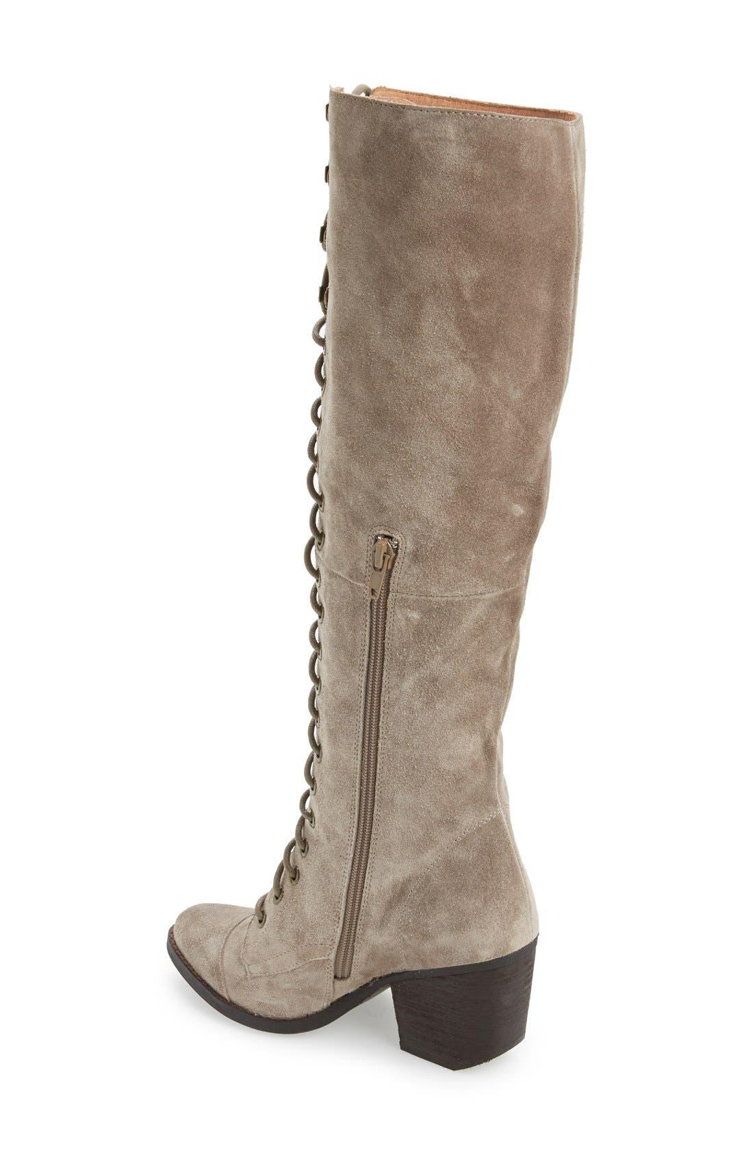Alternate Image 2  - Jeffrey Campbell 'Kandace' Lace-Up Tall Boot (Women)