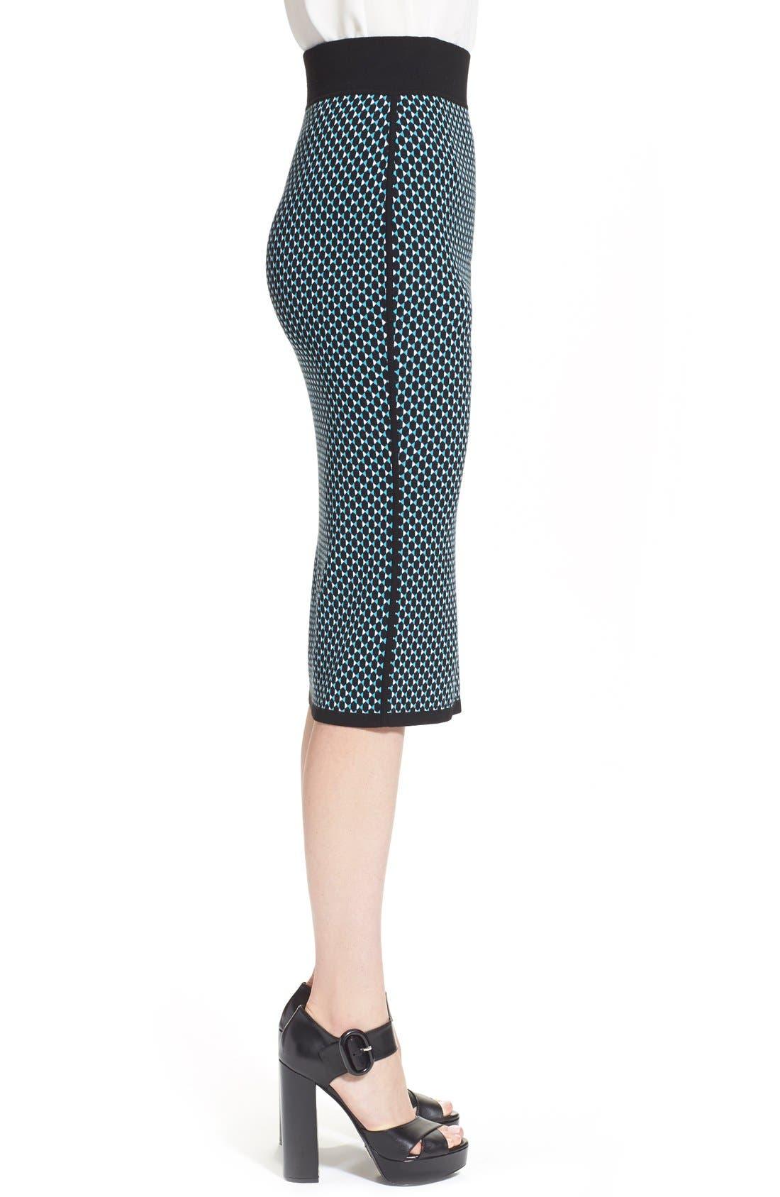 Alternate Image 4  - Michael KorsDiamond Jacquard Pencil Skirt