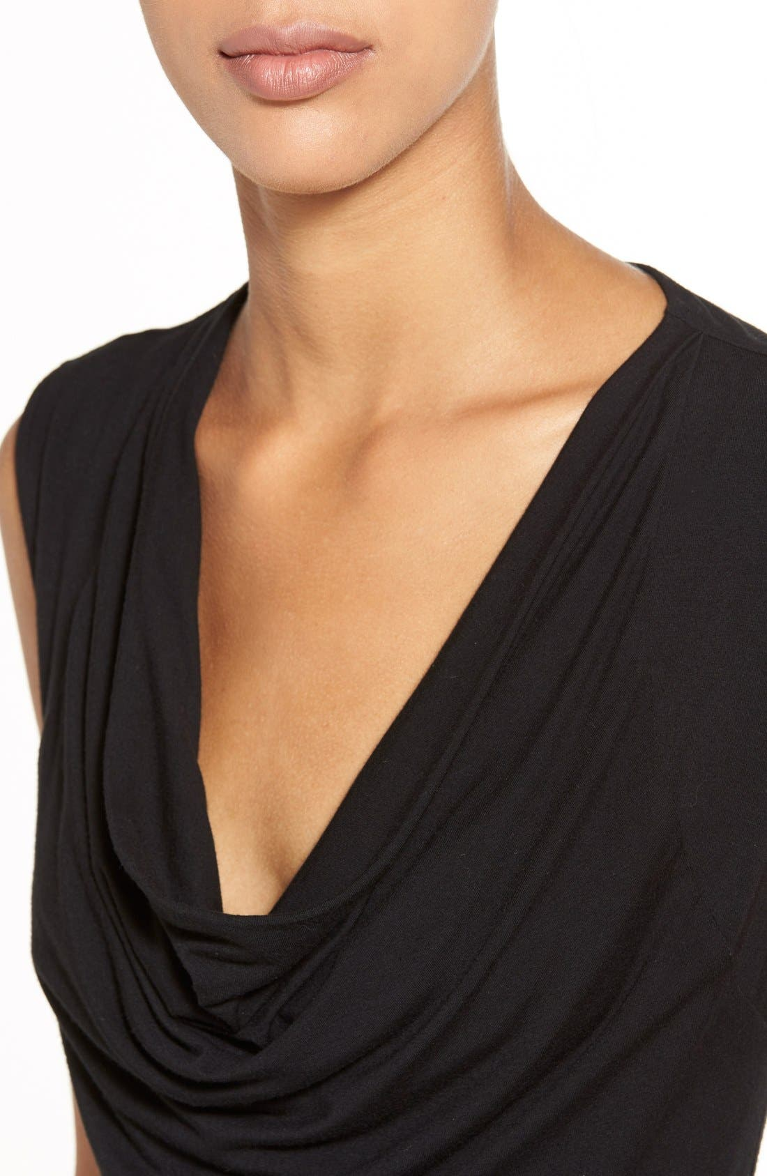 Alternate Image 4  - Halogen® Cowl Neck Sleeveless Top (Regular & Petite)