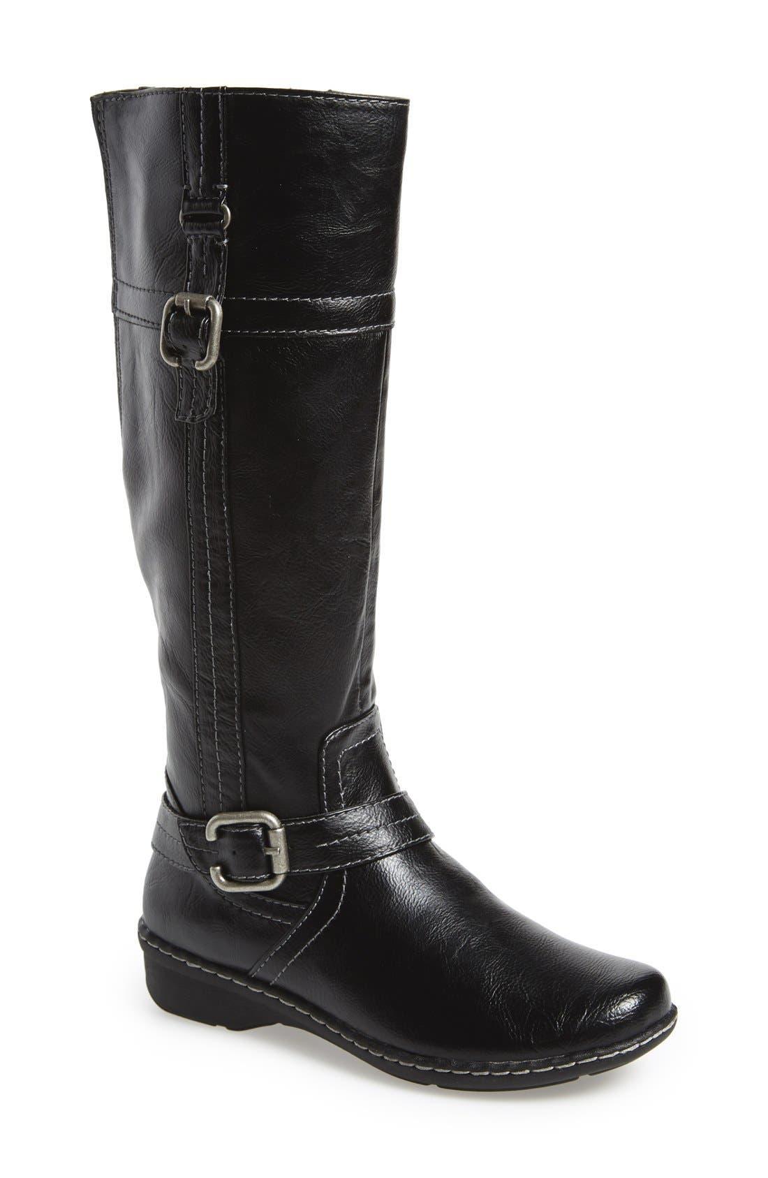 Alternate Image 1 Selected - Naturalizer'Renna' Knee High Boot (Women)
