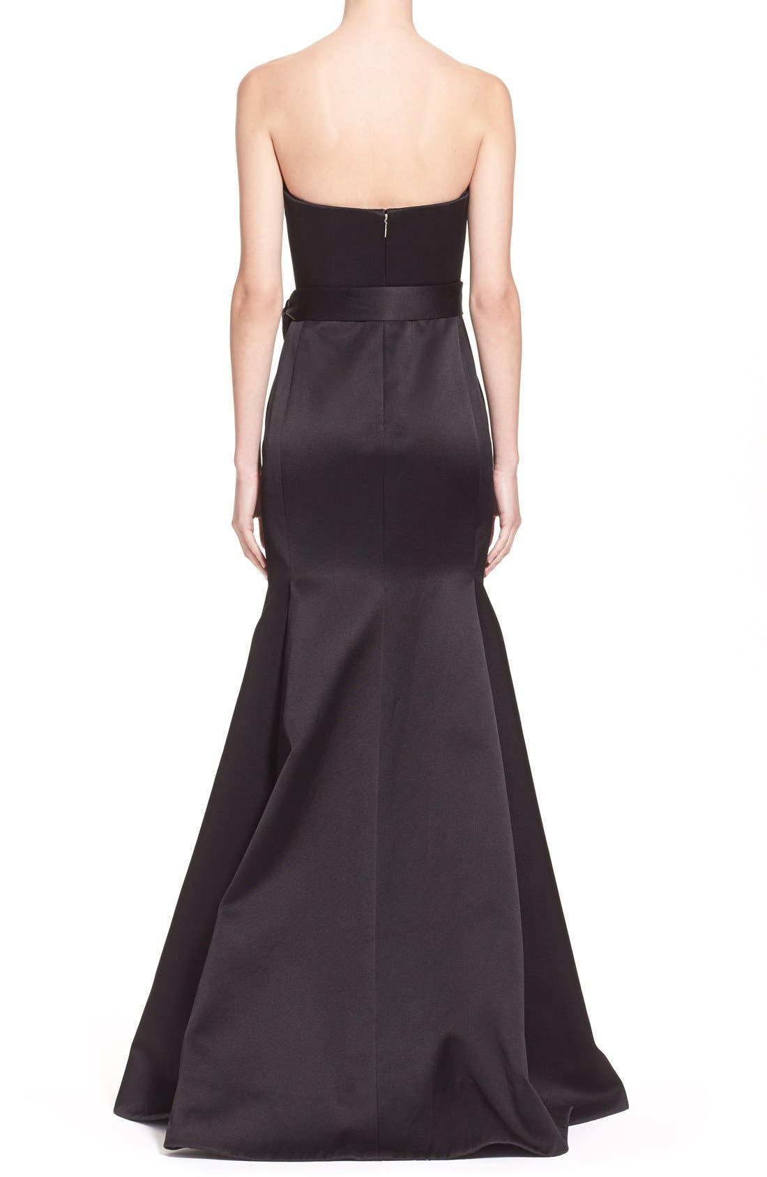 Alternate Image 2  - Jason Wu 'Reese' Strapless Satin Twill Gown