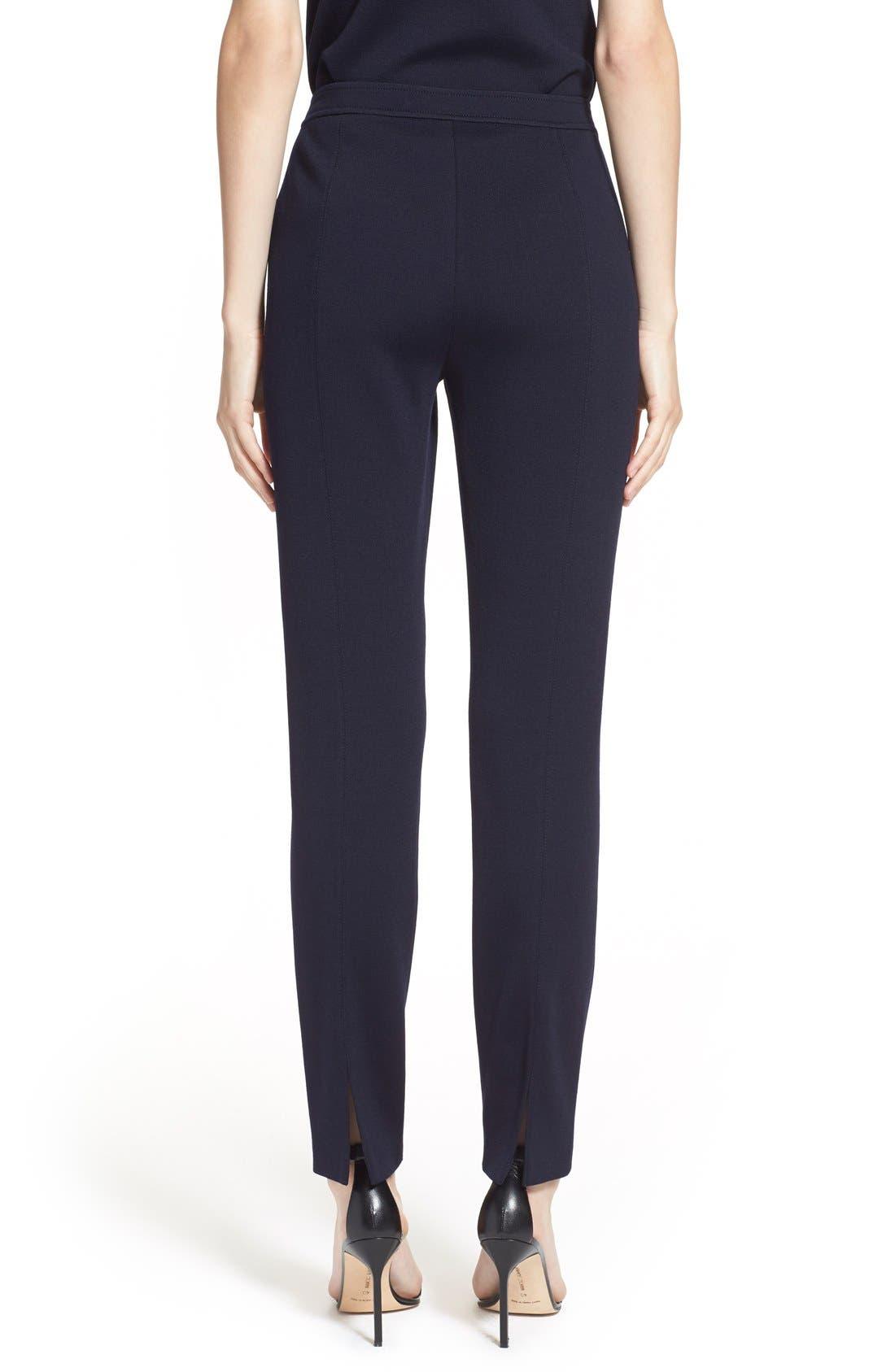 Alternate Image 2  - St. John Collection 'Alexa' Stretch Milano Knit Ankle Pants