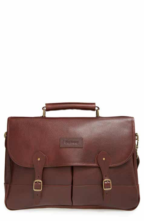 5dbe18747b Barbour Leather Briefcase