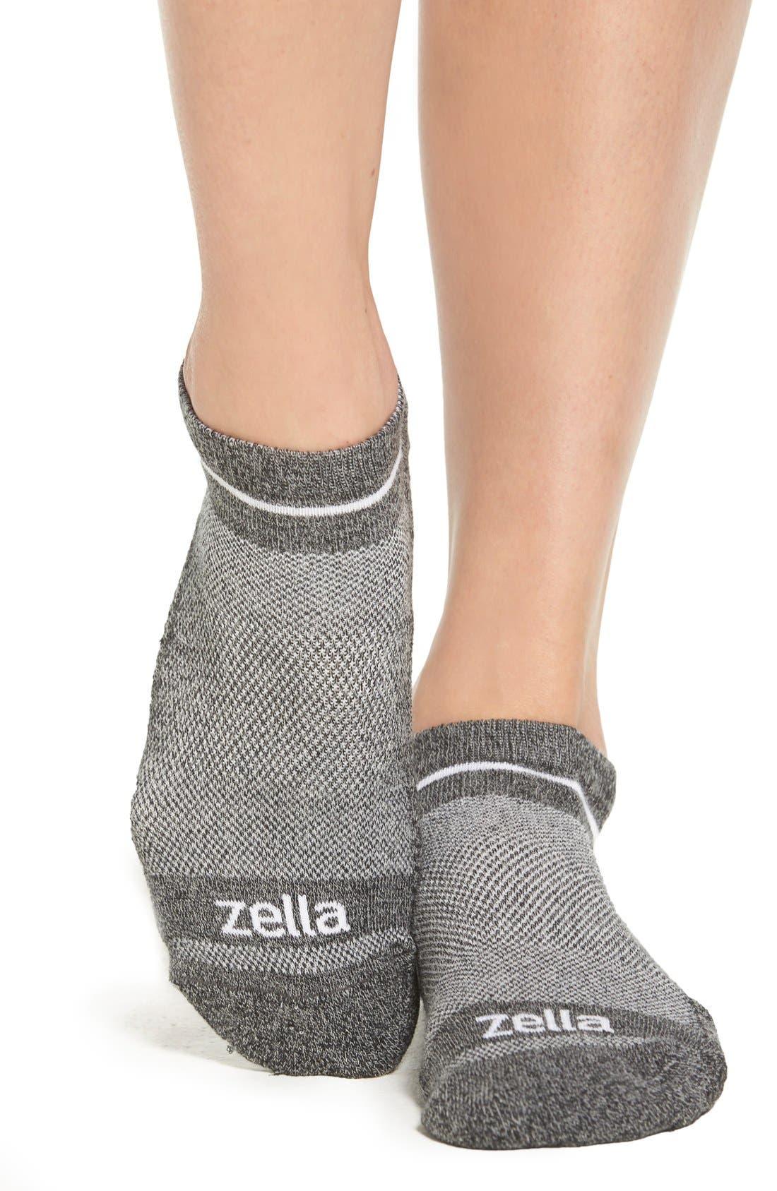 Alternate Image 2  - Zella Athletic Socks