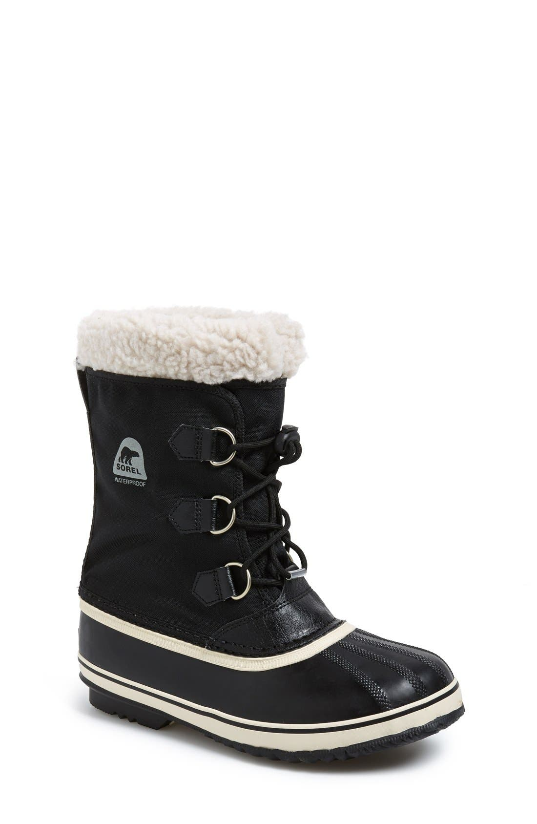 'Yoot Pac' Waterproof Snow Boot,                         Main,                         color, Black
