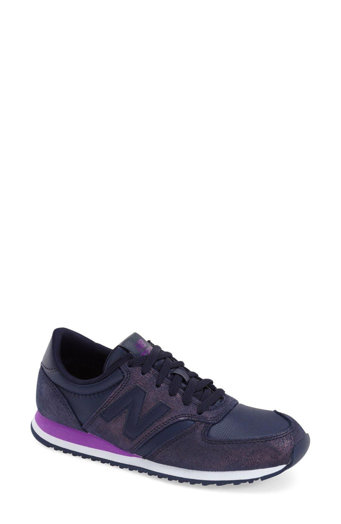 '420' Sneaker,                             Main thumbnail 1, color,                             Dark Purple