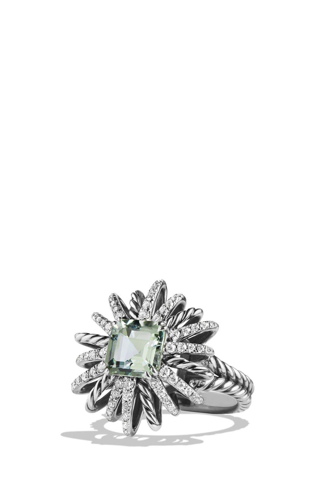 'Starburst' Ring,                         Main,                         color, Prasiolite
