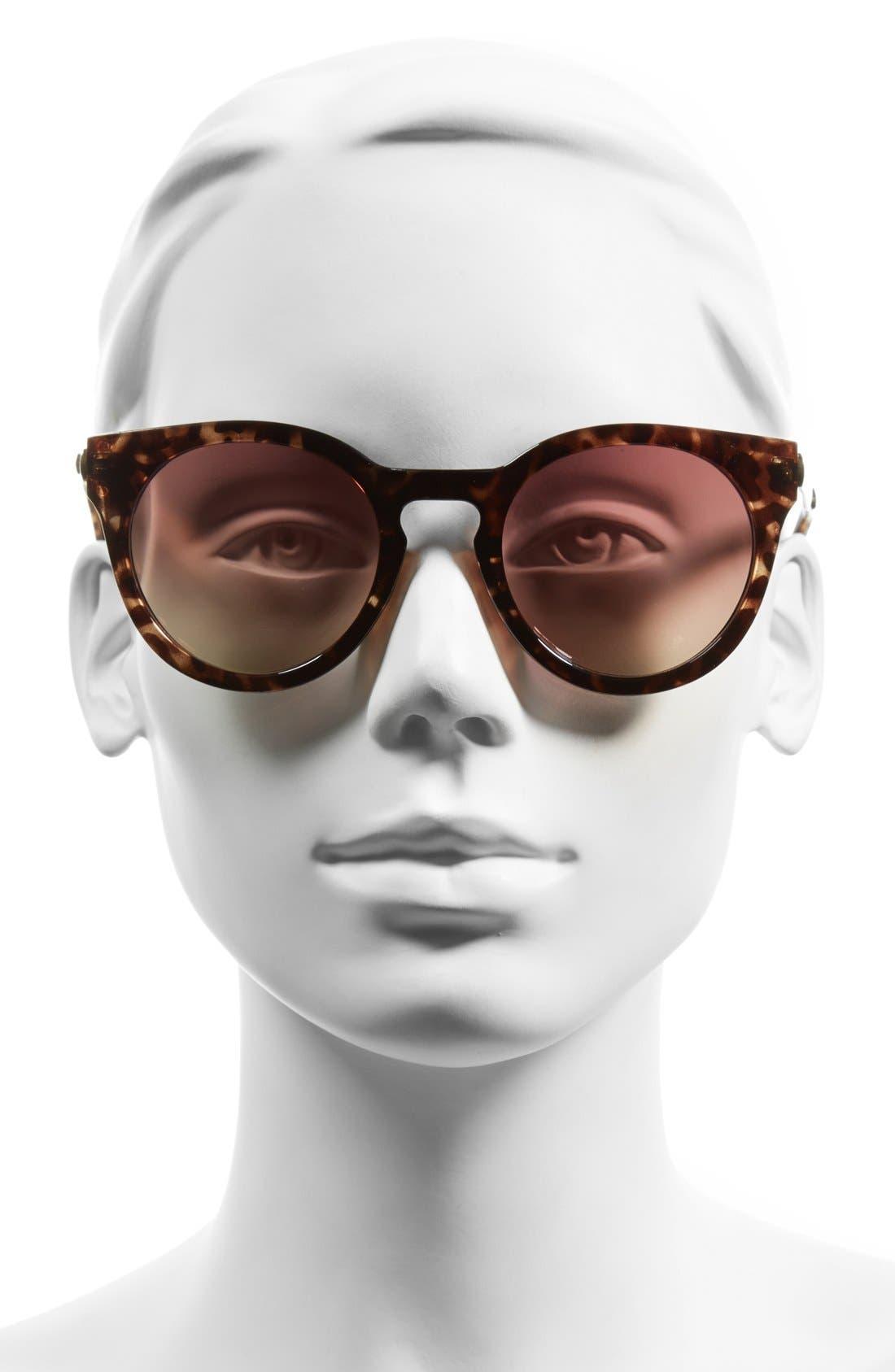 Alternate Image 2  - BP. 55mm Mirrored Round Sunglasses