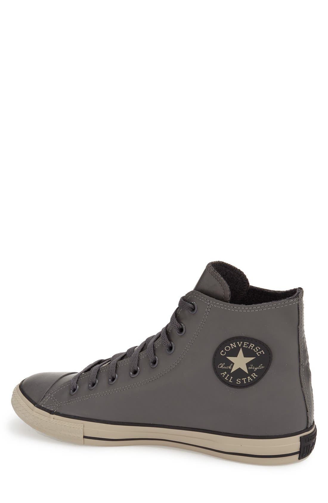 Alternate Image 2  - Converse Chuck Taylor® All Star® Rubber High Top Sneaker (Men)