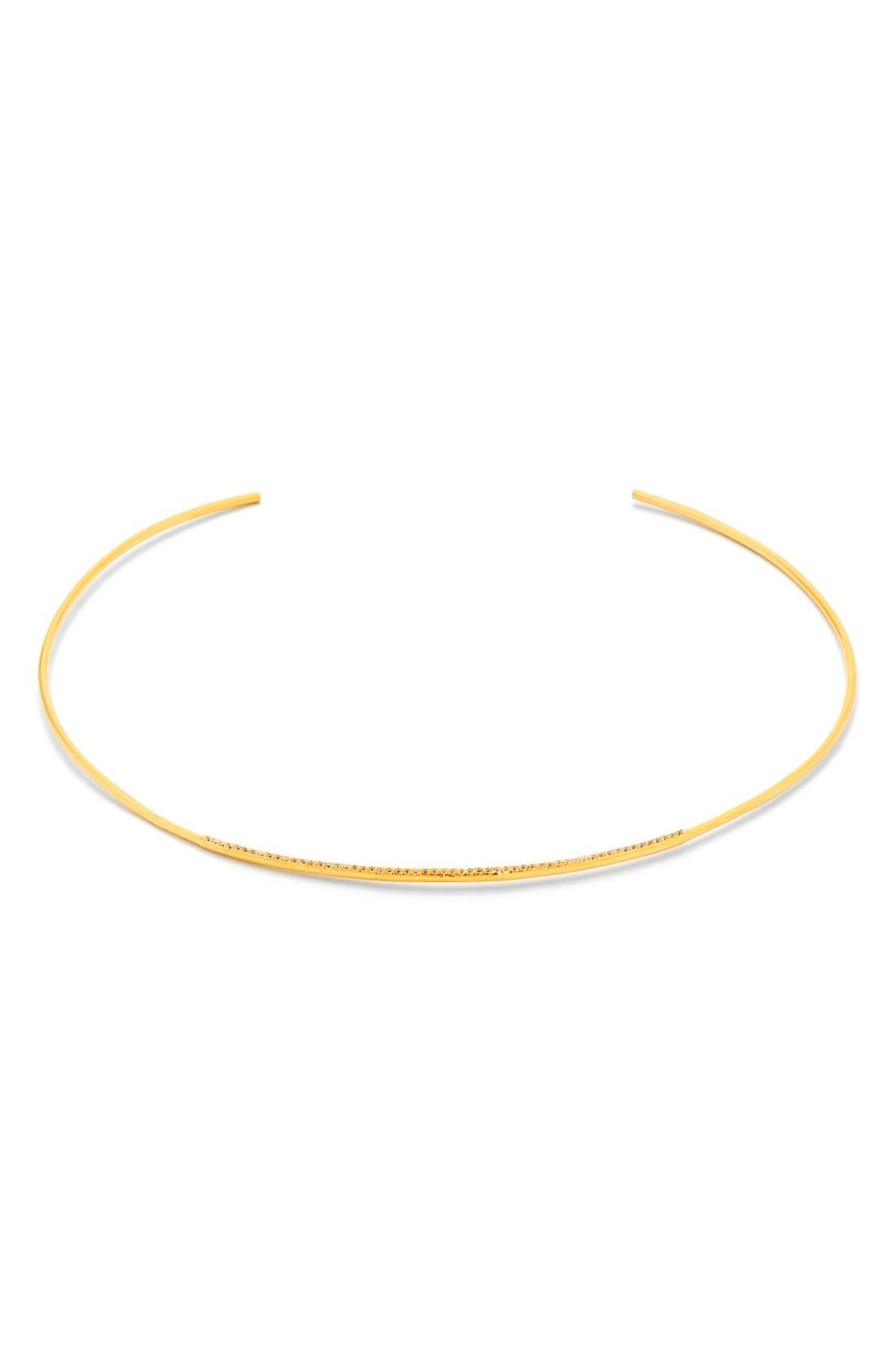 Main Image - gorjana 'Petra' Pavé Choker Necklace
