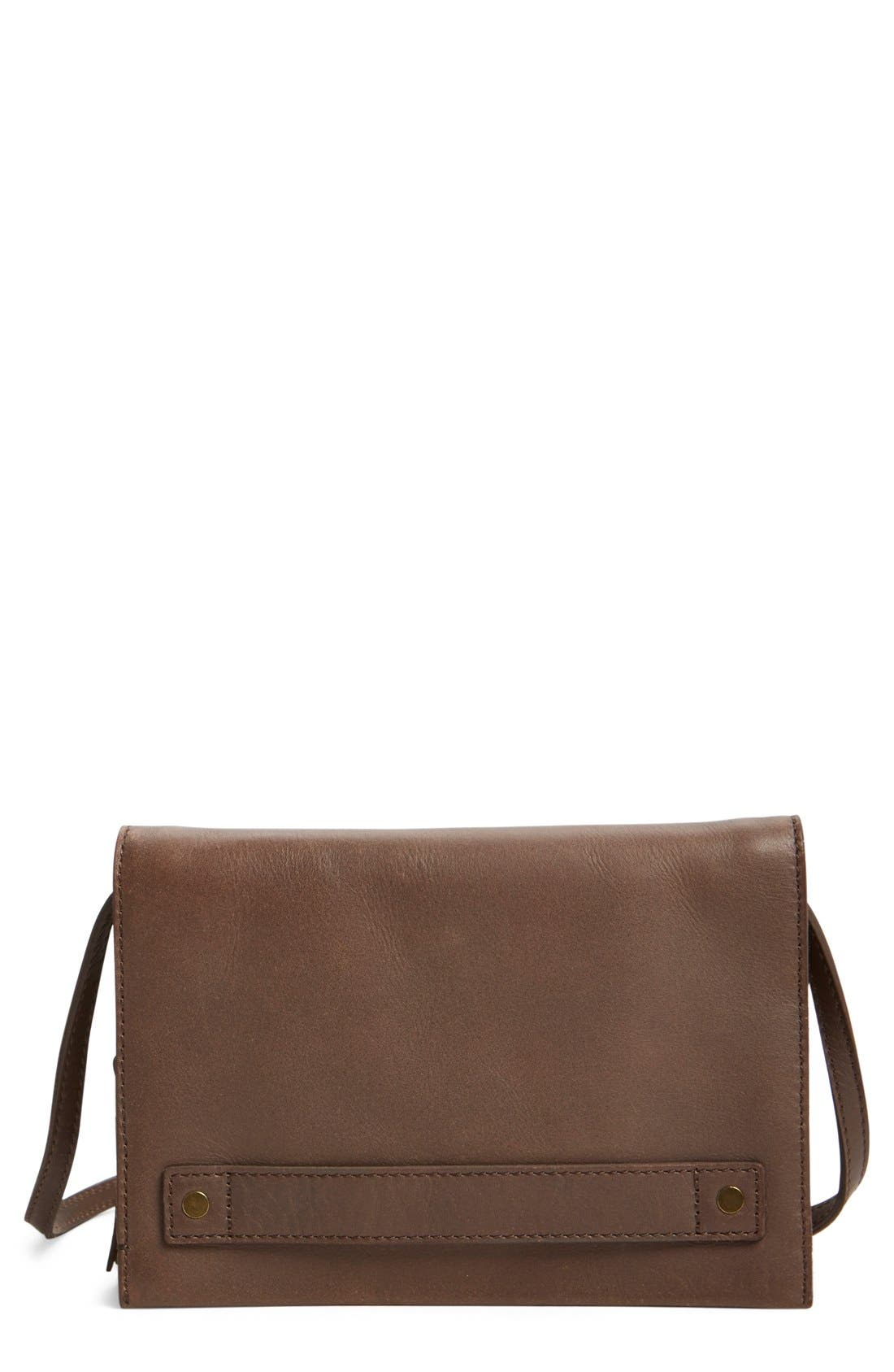madewell leather crossbody bag nordstrom