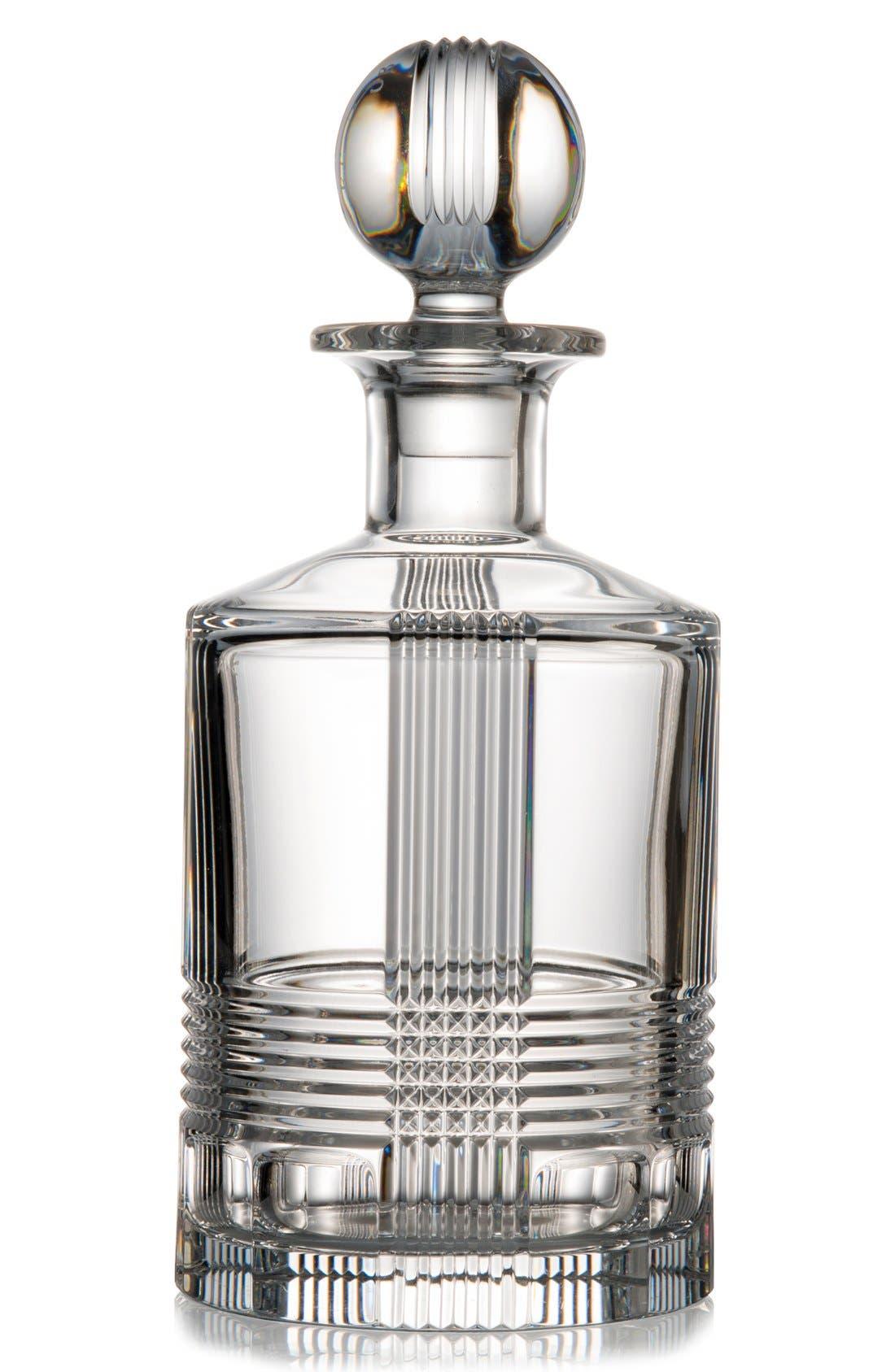 rogaska crystal u0027fan clubu0027 lead crystal decanter