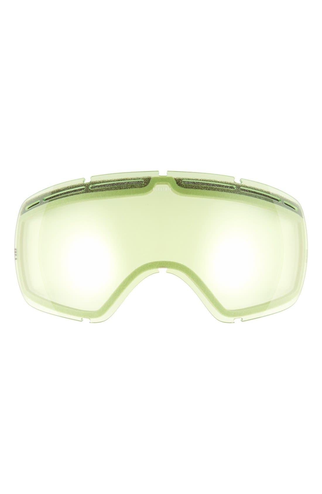 EG 2.5 215mm Snow Goggles,                             Alternate thumbnail 3, color,                             Solid Berry/ Jet Black