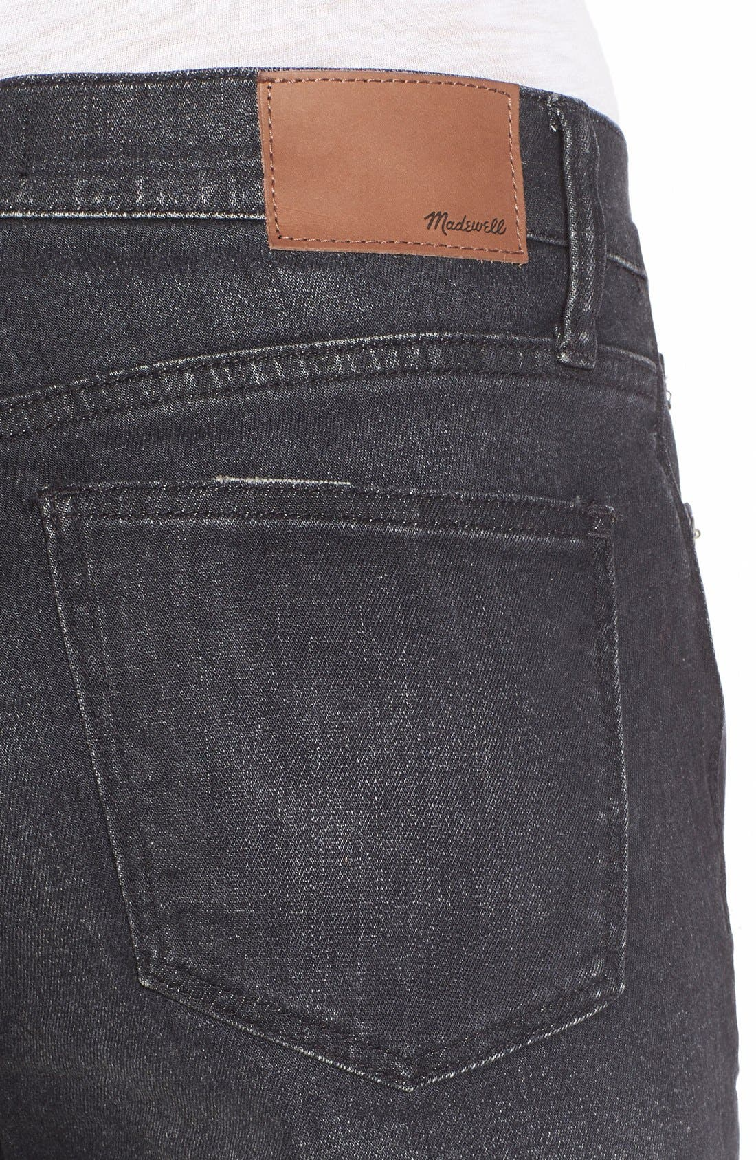 'High Riser' Skinny Skinny Jeans,                             Alternate thumbnail 5, color,                             Kincaid Wash